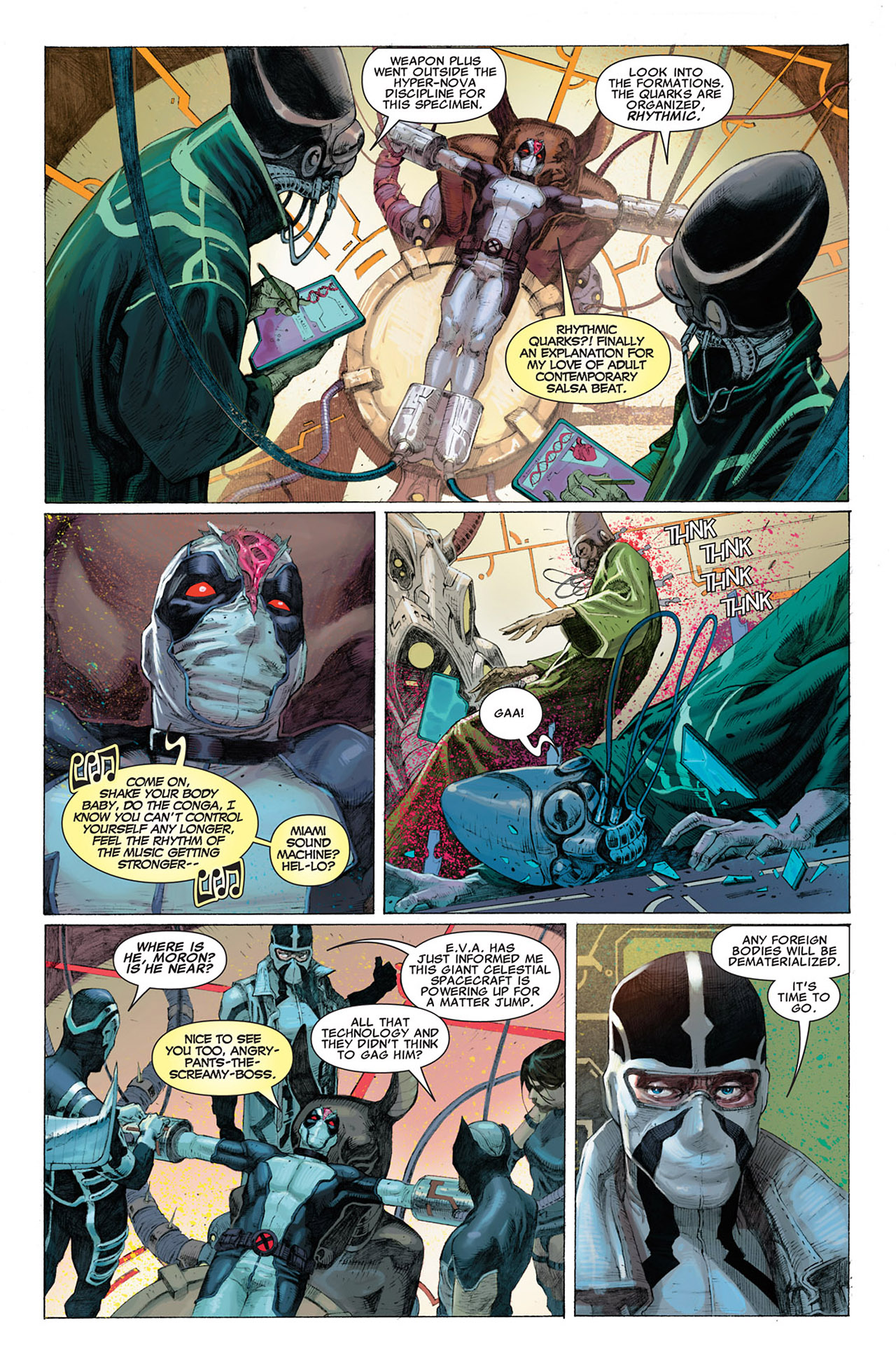 Read online Uncanny X-Force (2010) comic -  Issue #1 - 21