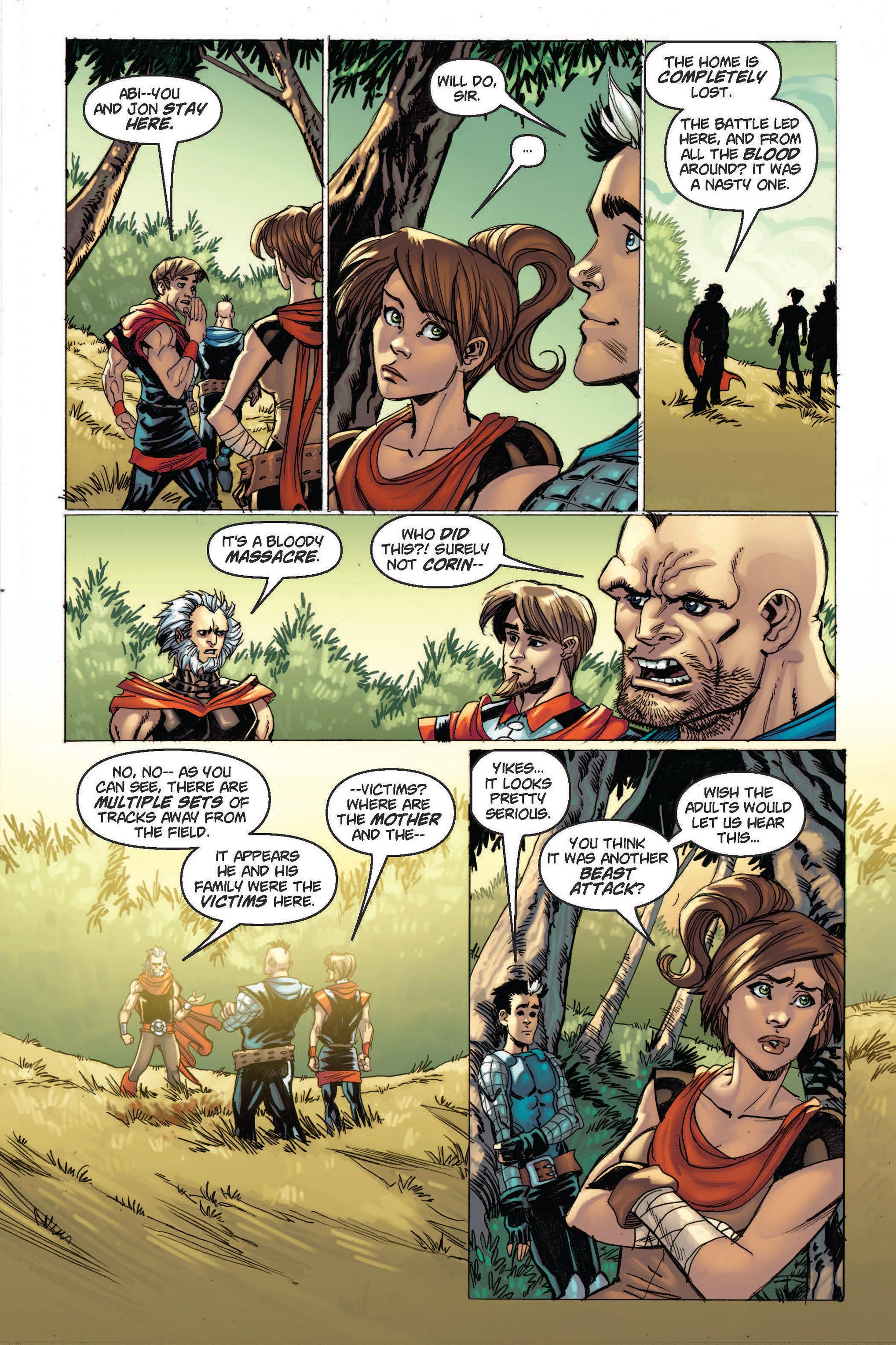 Read online Skyward comic -  Issue #2 - 9