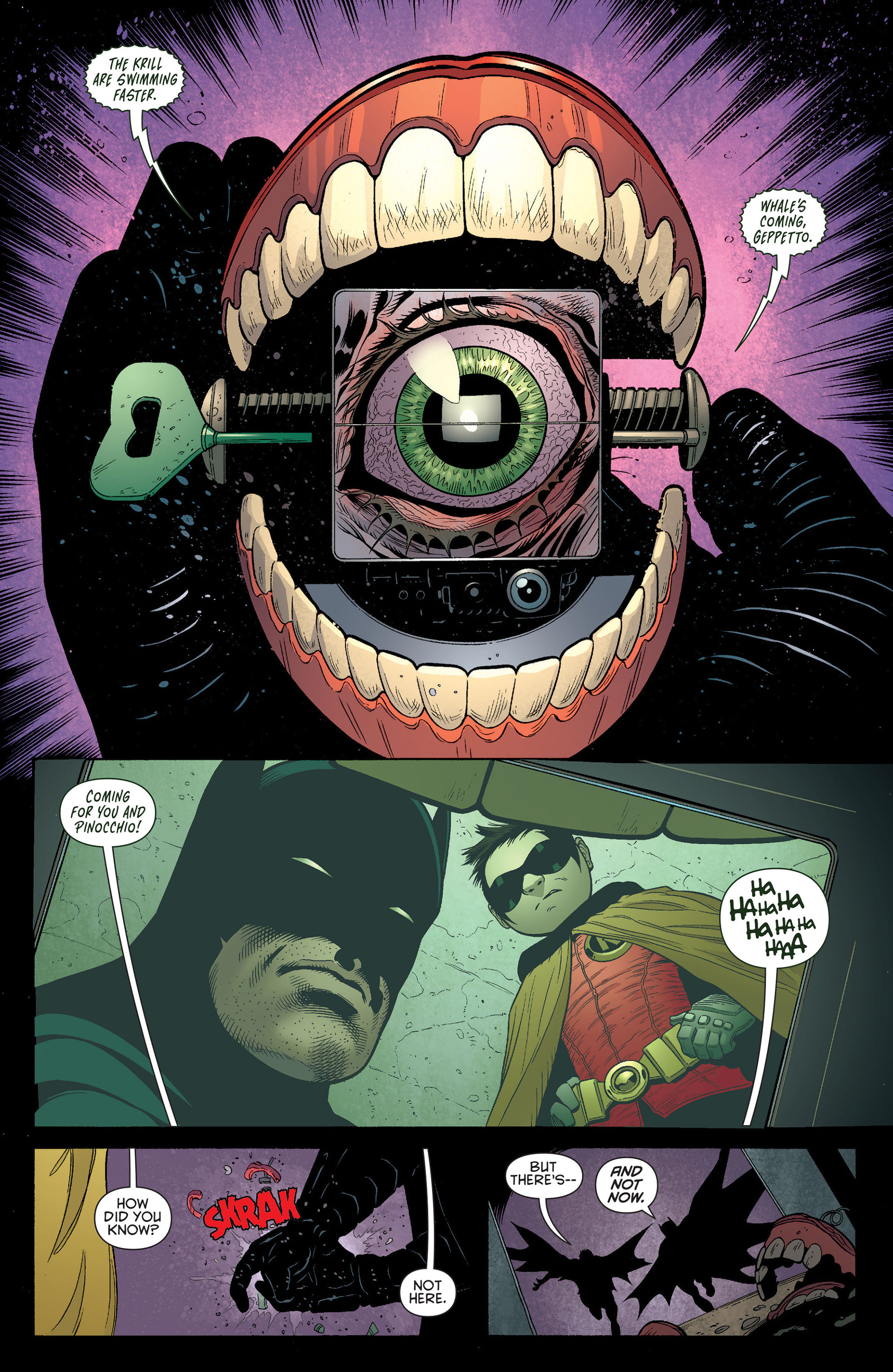 Read online Batman and Robin (2011) comic -  Issue #14 - 17
