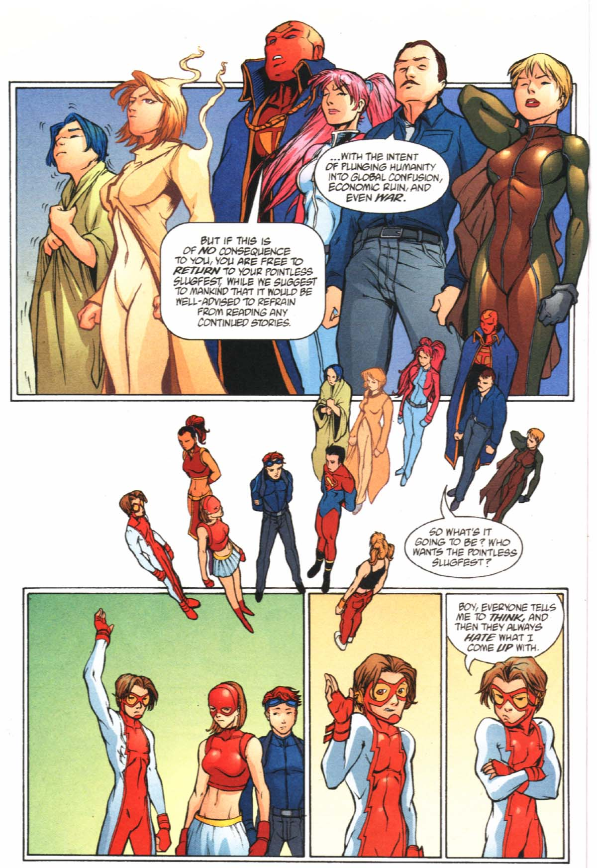Read online SpyBoy/Young Justice comic -  Issue #2 - 15