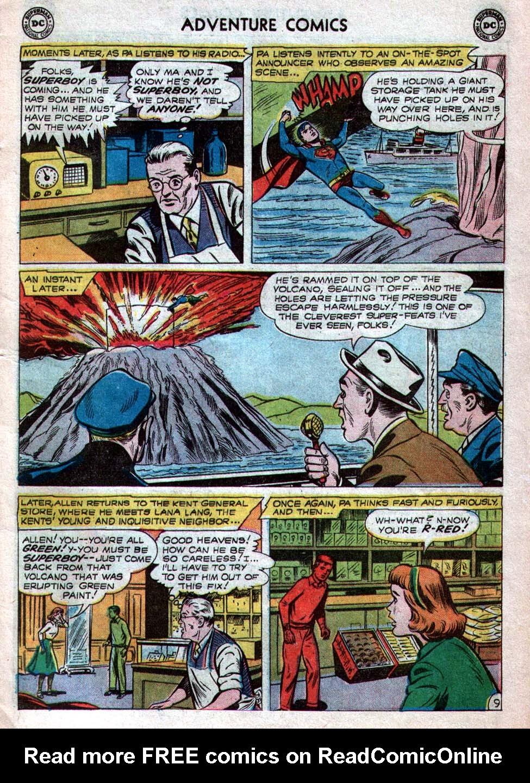 Read online Adventure Comics (1938) comic -  Issue #260 - 11
