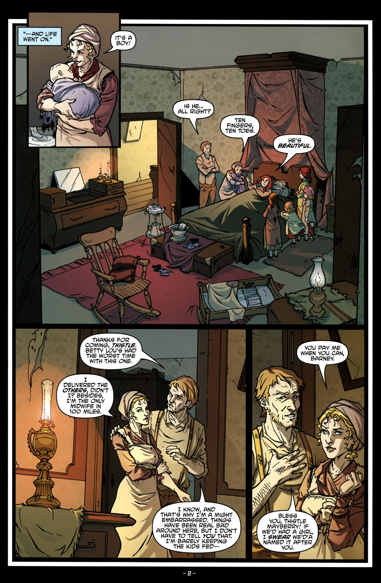 Read online True Blood (2010) comic -  Issue #6 - 5
