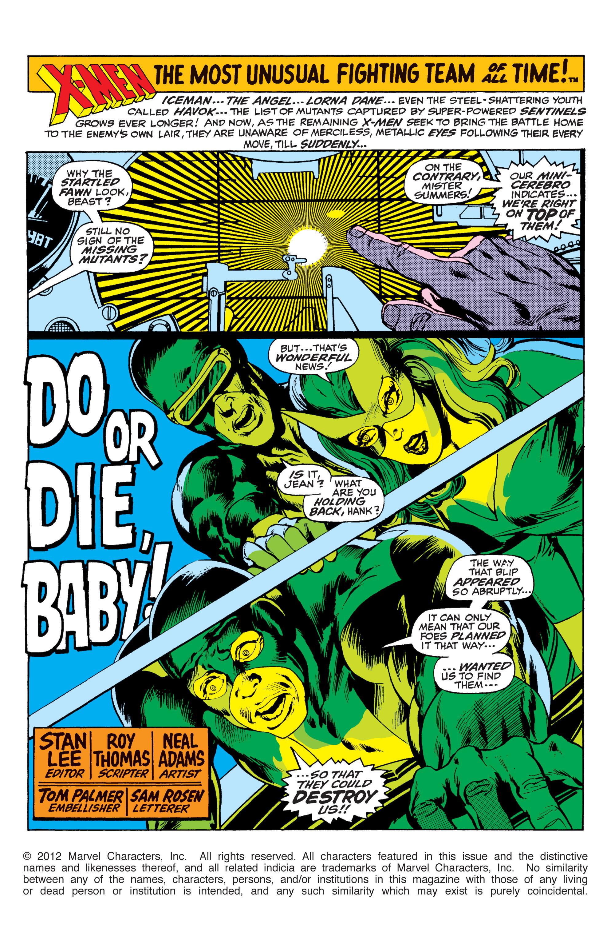 Read online Uncanny X-Men (1963) comic -  Issue #59 - 2