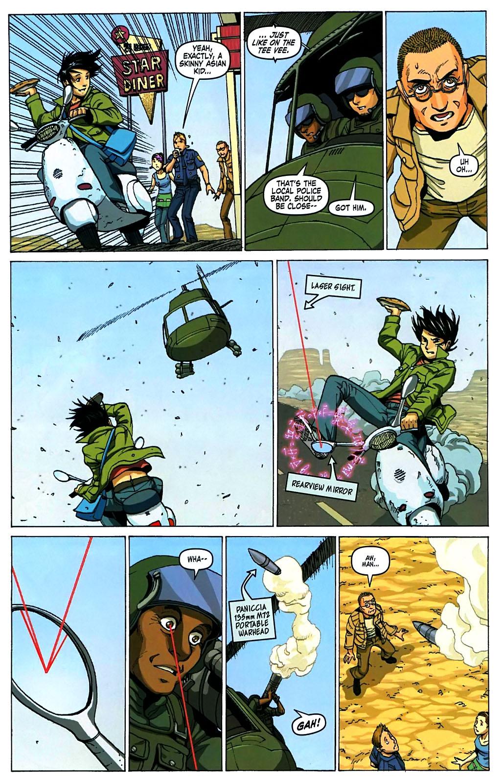 Read online Amazing Fantasy (2004) comic -  Issue #15 - 8
