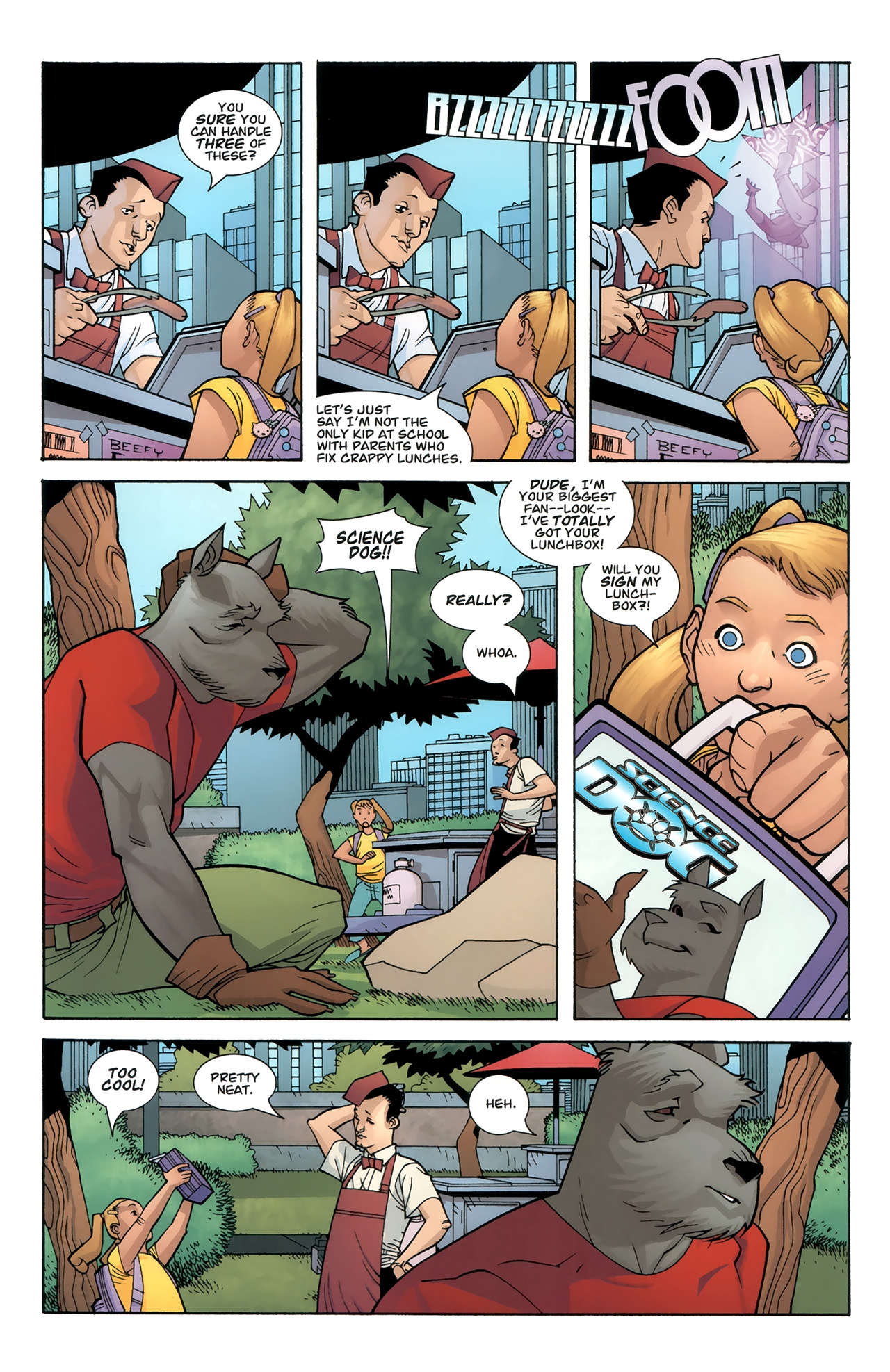 Read online Science Dog Special comic -  Issue #1 - 5