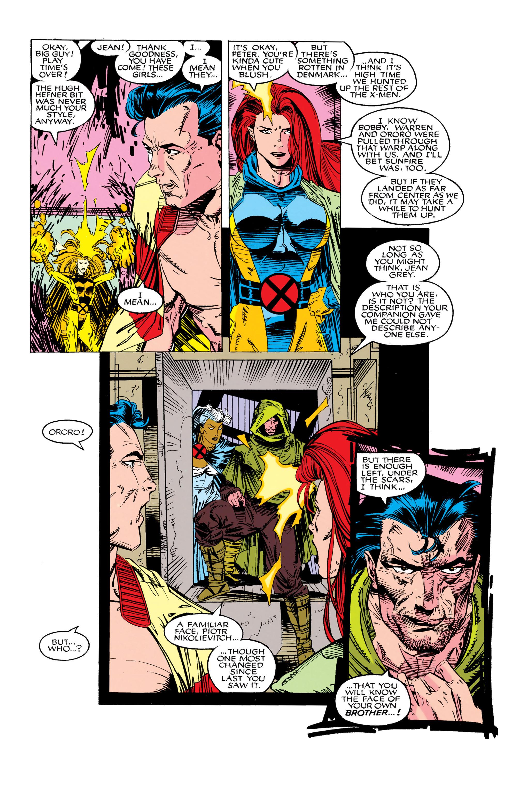 Read online Uncanny X-Men (1963) comic -  Issue #285 - 20