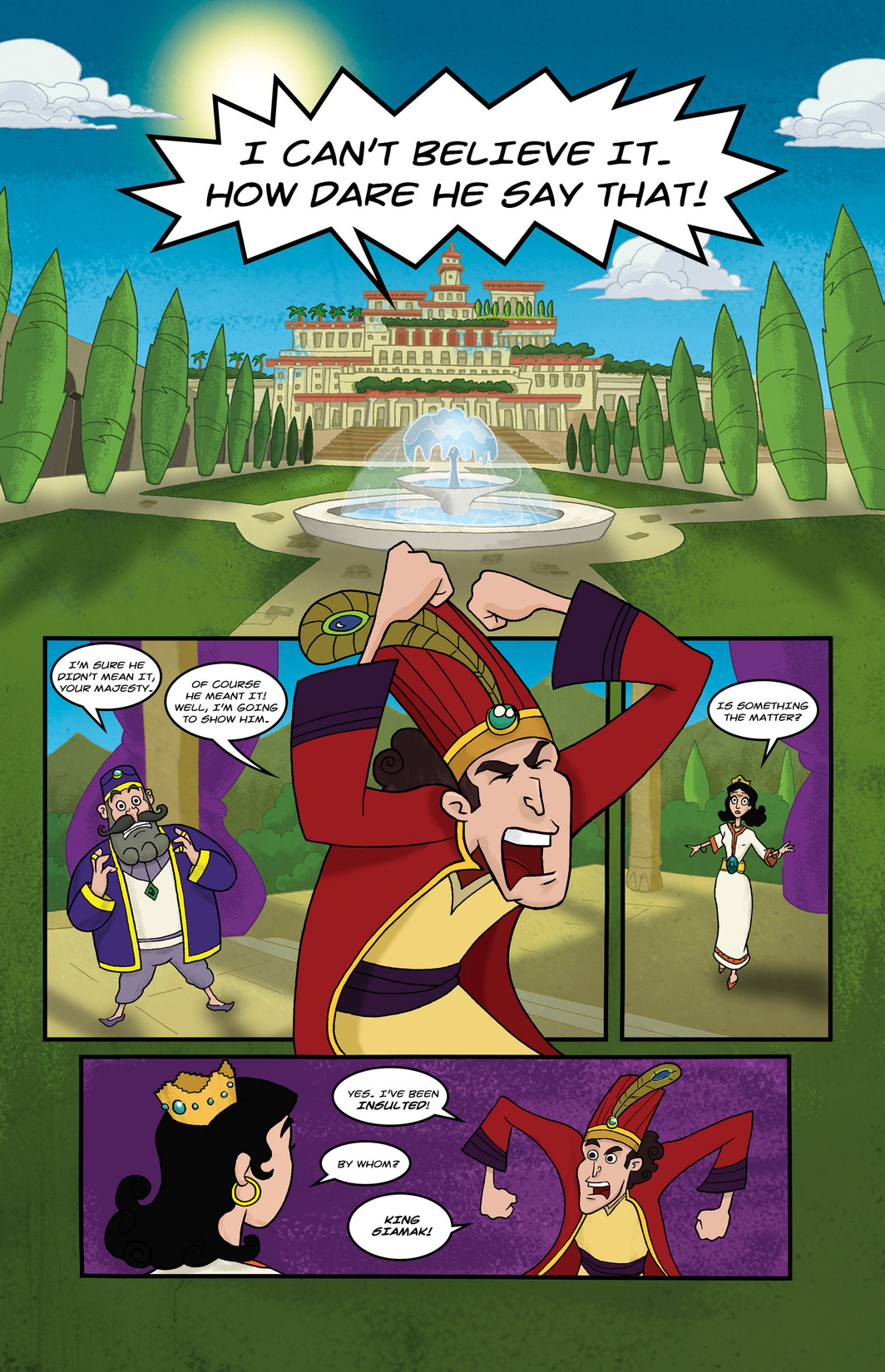 Read online 1001 Nights comic -  Issue #6 - 3