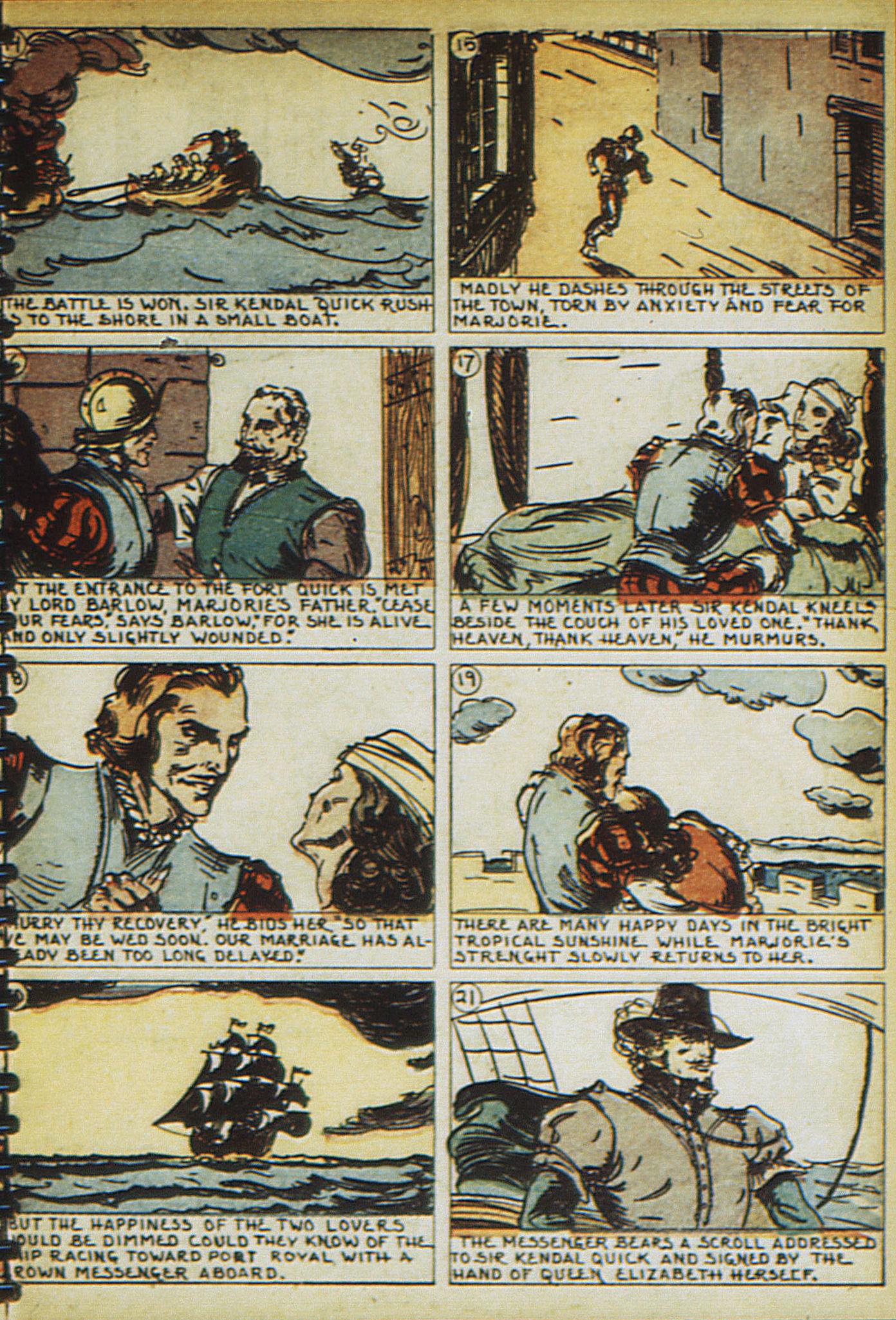 Read online Adventure Comics (1938) comic -  Issue #23 - 61