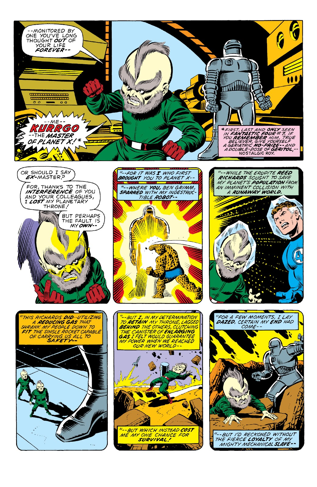 Read online Marvel Two-In-One Epic Collection: Cry Monster comic -  Issue # TPB (Part 1) - 9