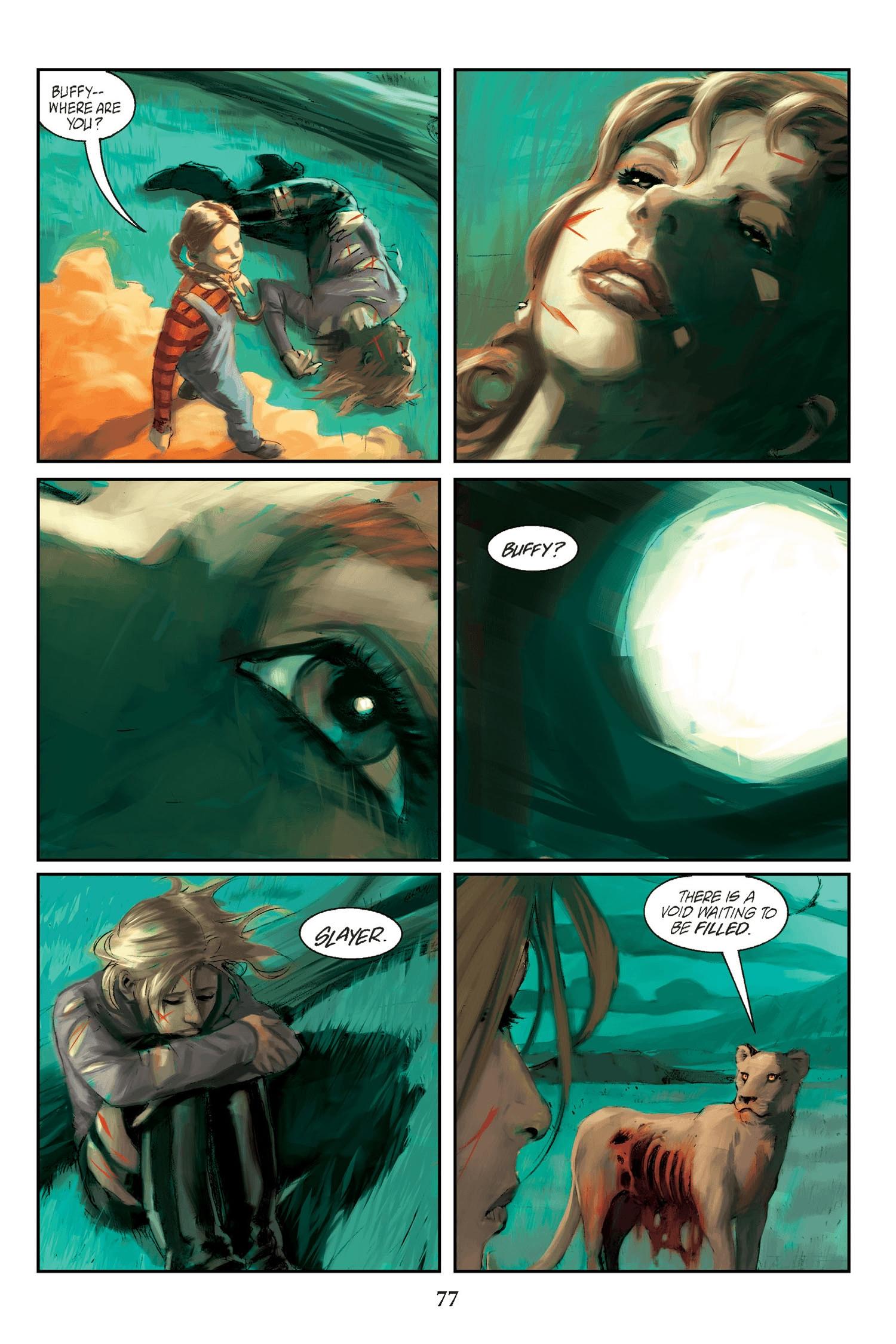 Read online Buffy the Vampire Slayer: Omnibus comic -  Issue # TPB 2 - 75