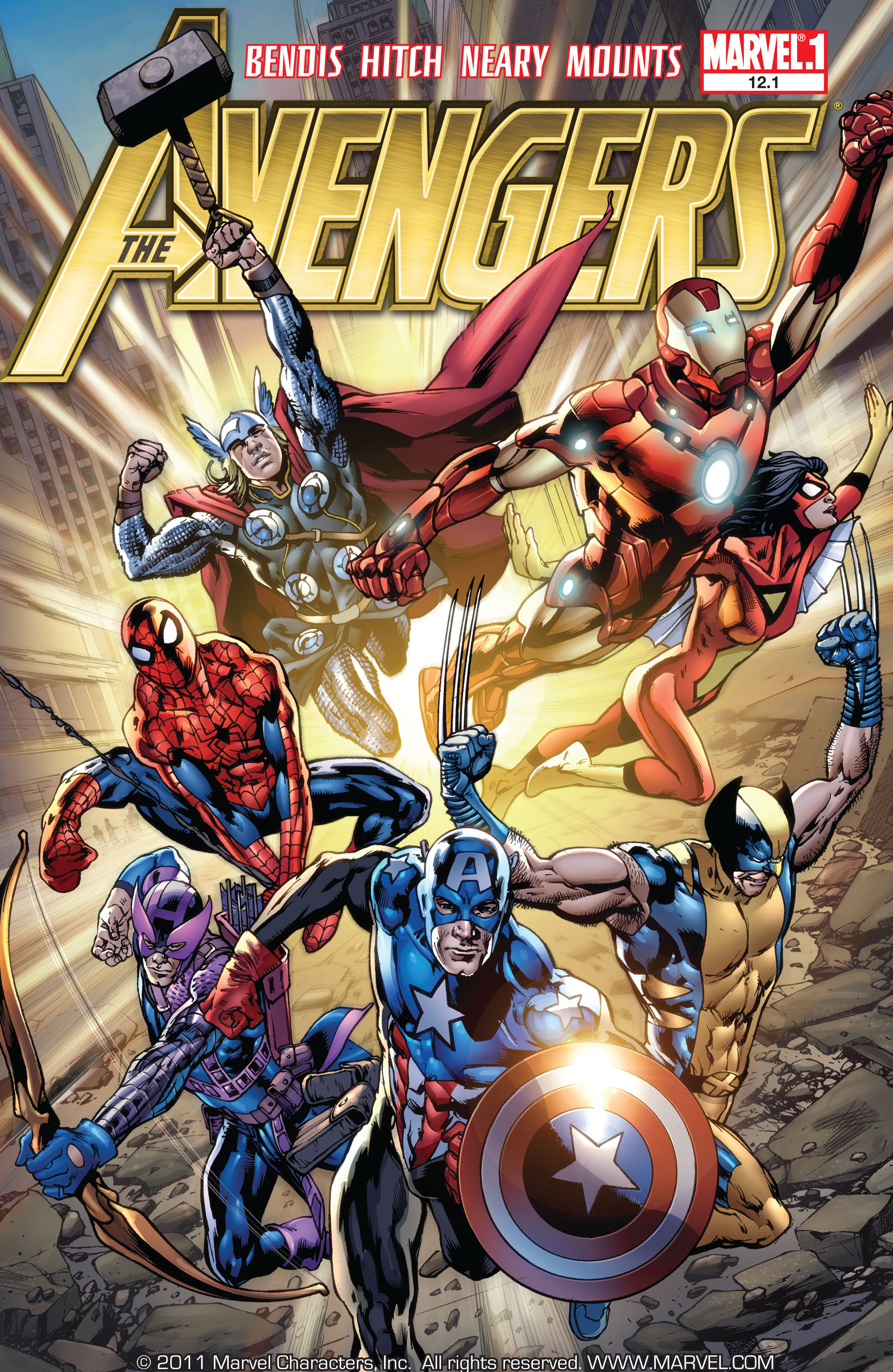 Read online Avengers (2010) comic -  Issue #12.1 - 1