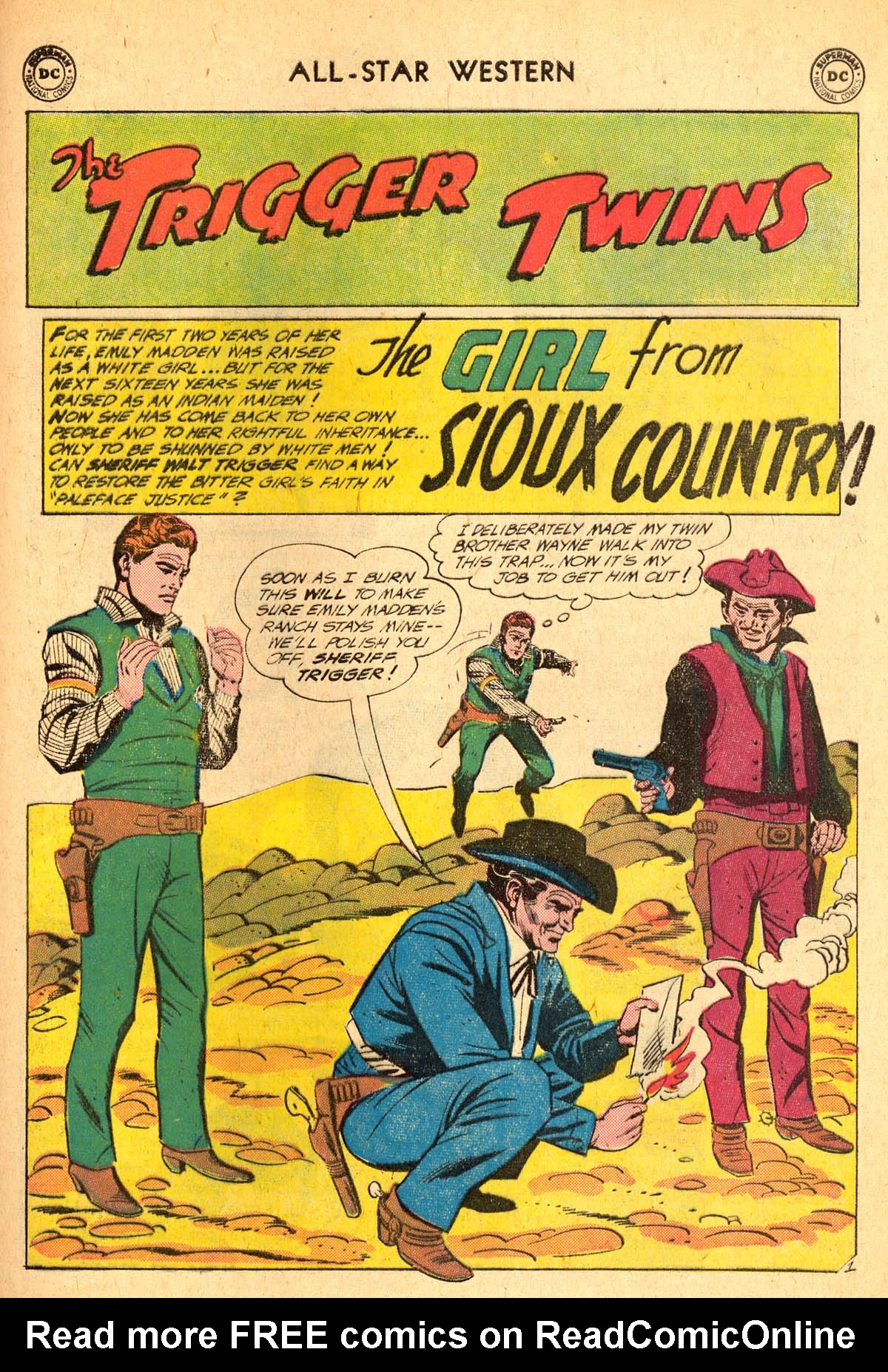Read online All-Star Western (1951) comic -  Issue #115 - 25