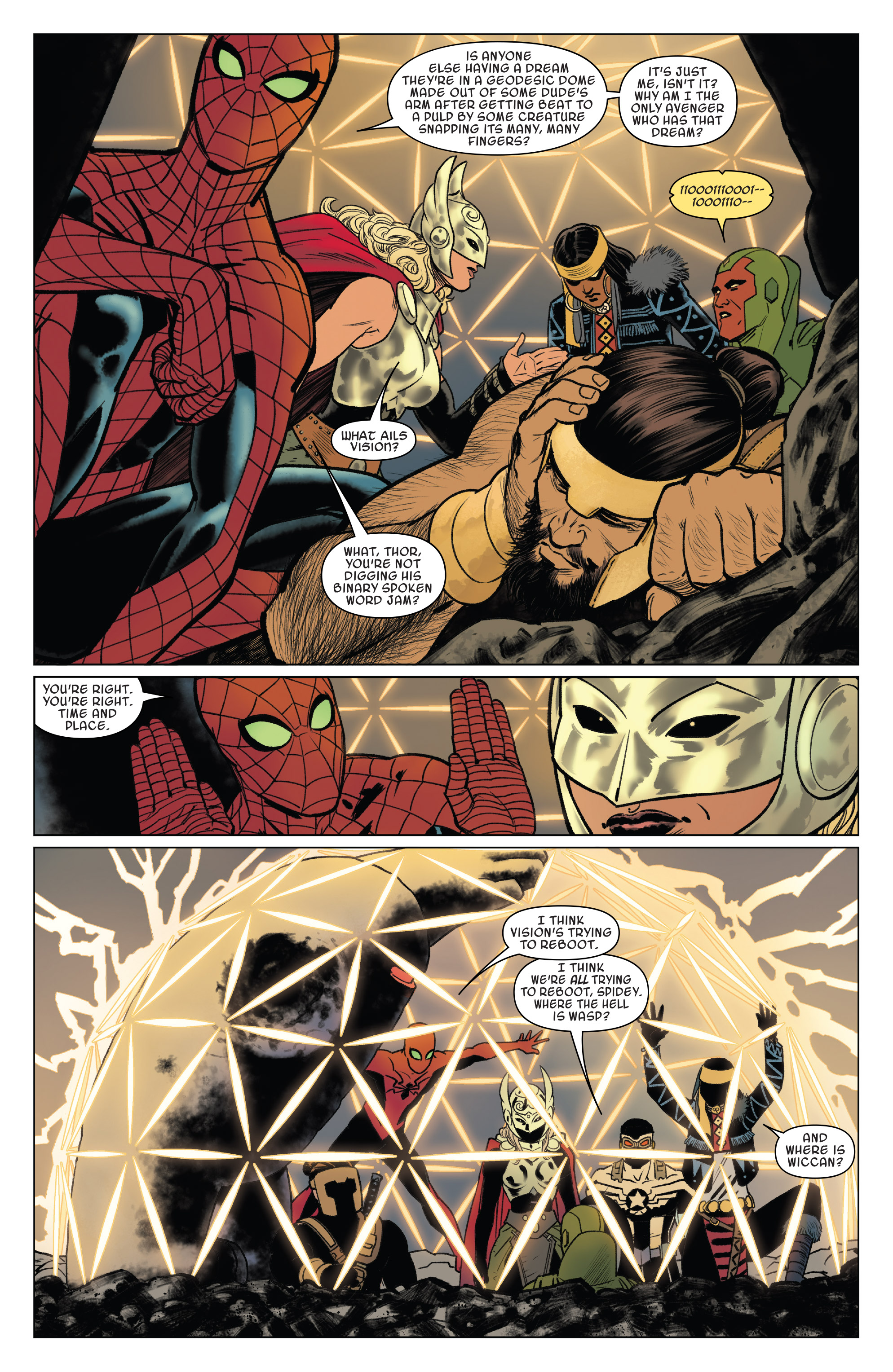 Read online Doctor Strange and the Sorcerers Supreme comic -  Issue #8 - 7