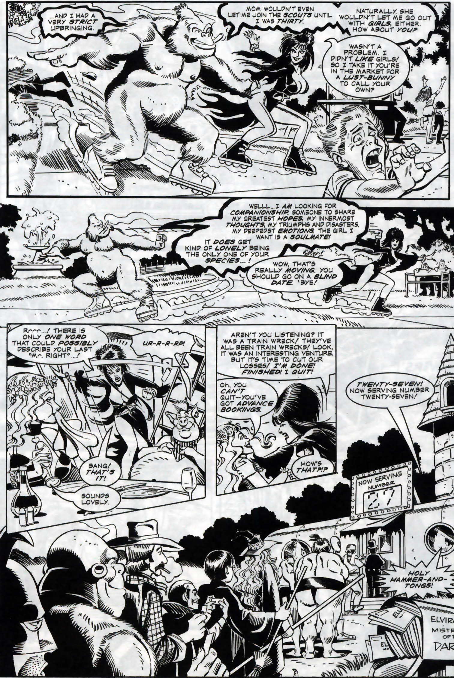 Read online Elvira, Mistress of the Dark comic -  Issue #118 - 15