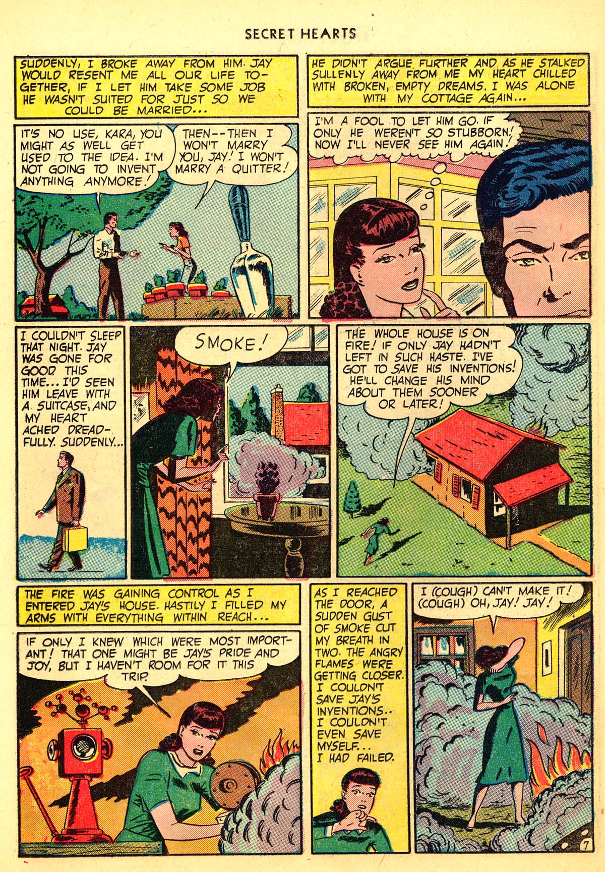 Read online Secret Hearts comic -  Issue #6 - 18