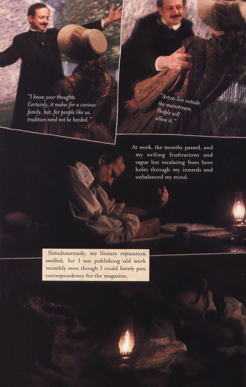 Read online In the Shadow of Edgar Allan Poe comic -  Issue # TPB - 38