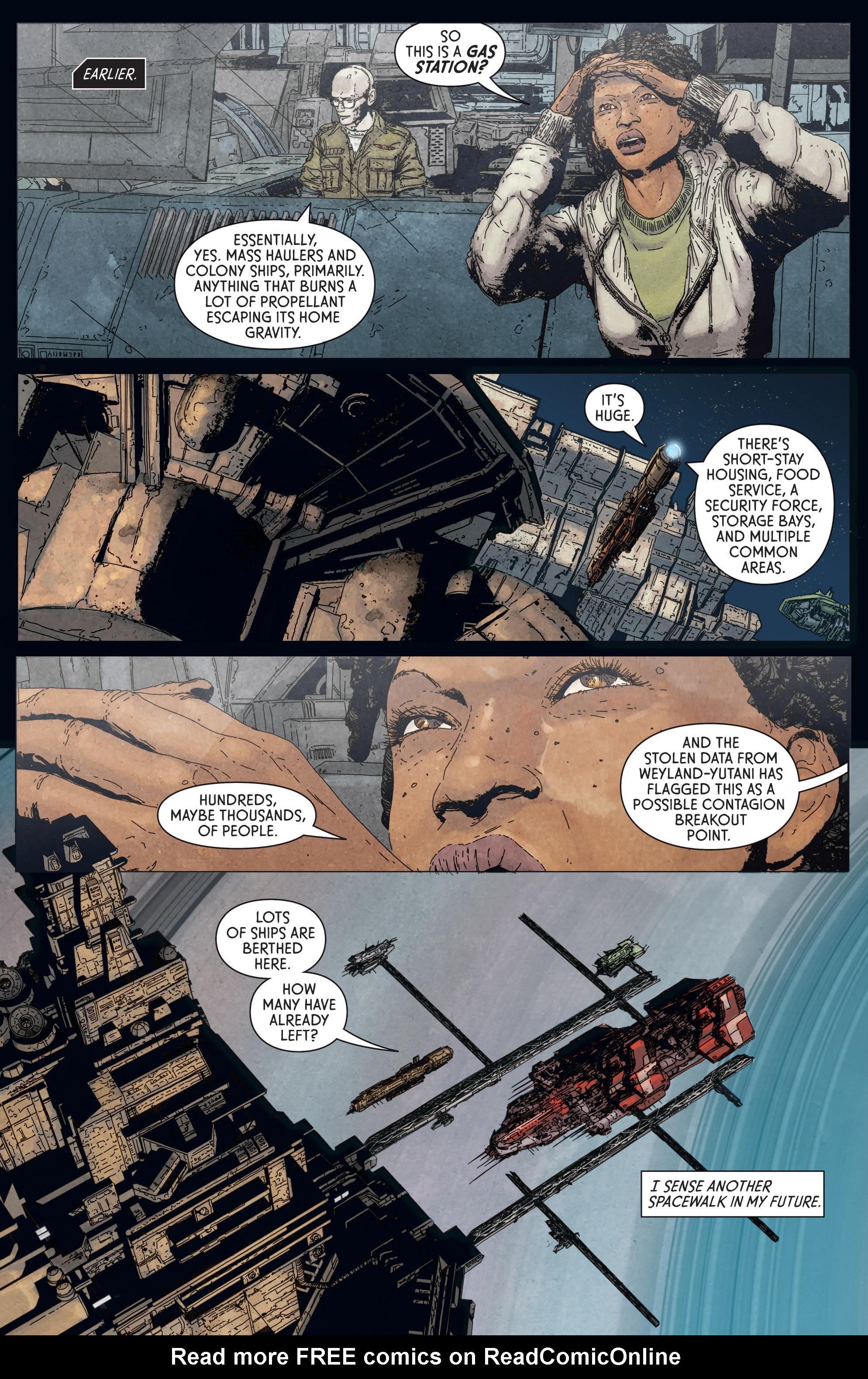 Read online Aliens: Defiance comic -  Issue #5 - 8