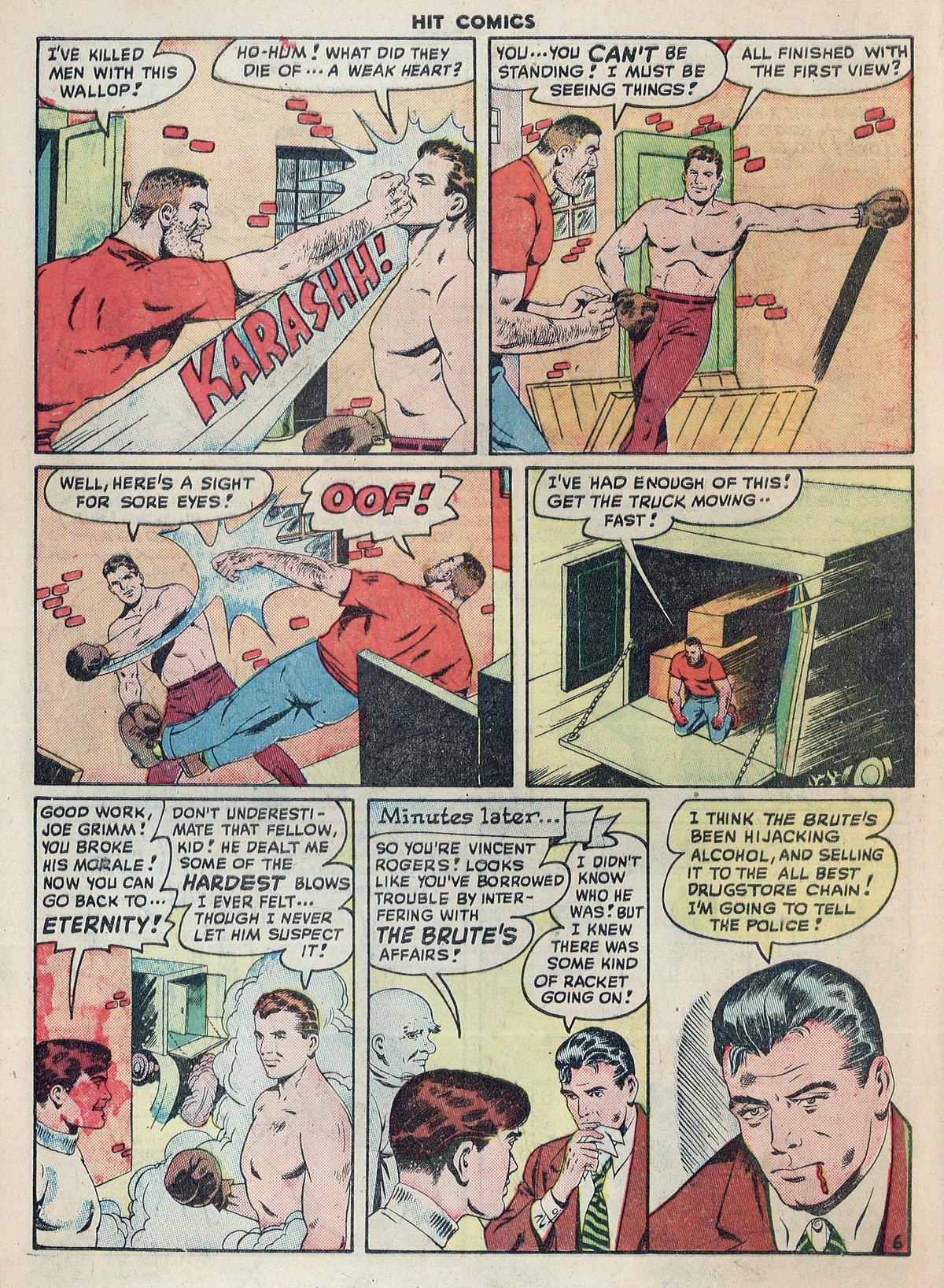 Read online Hit Comics comic -  Issue #55 - 8