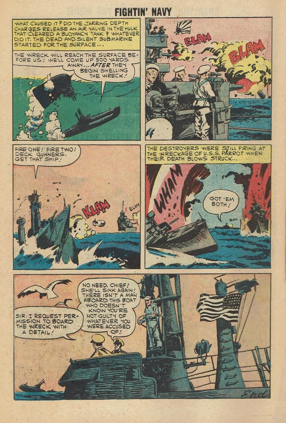 Read online Fightin' Navy comic -  Issue #96 - 10