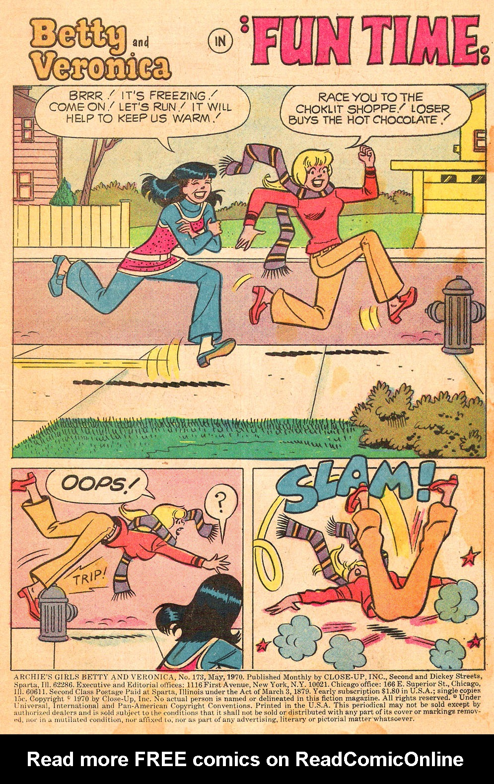 Read online Archie's Girls Betty and Veronica comic -  Issue #173 - 3