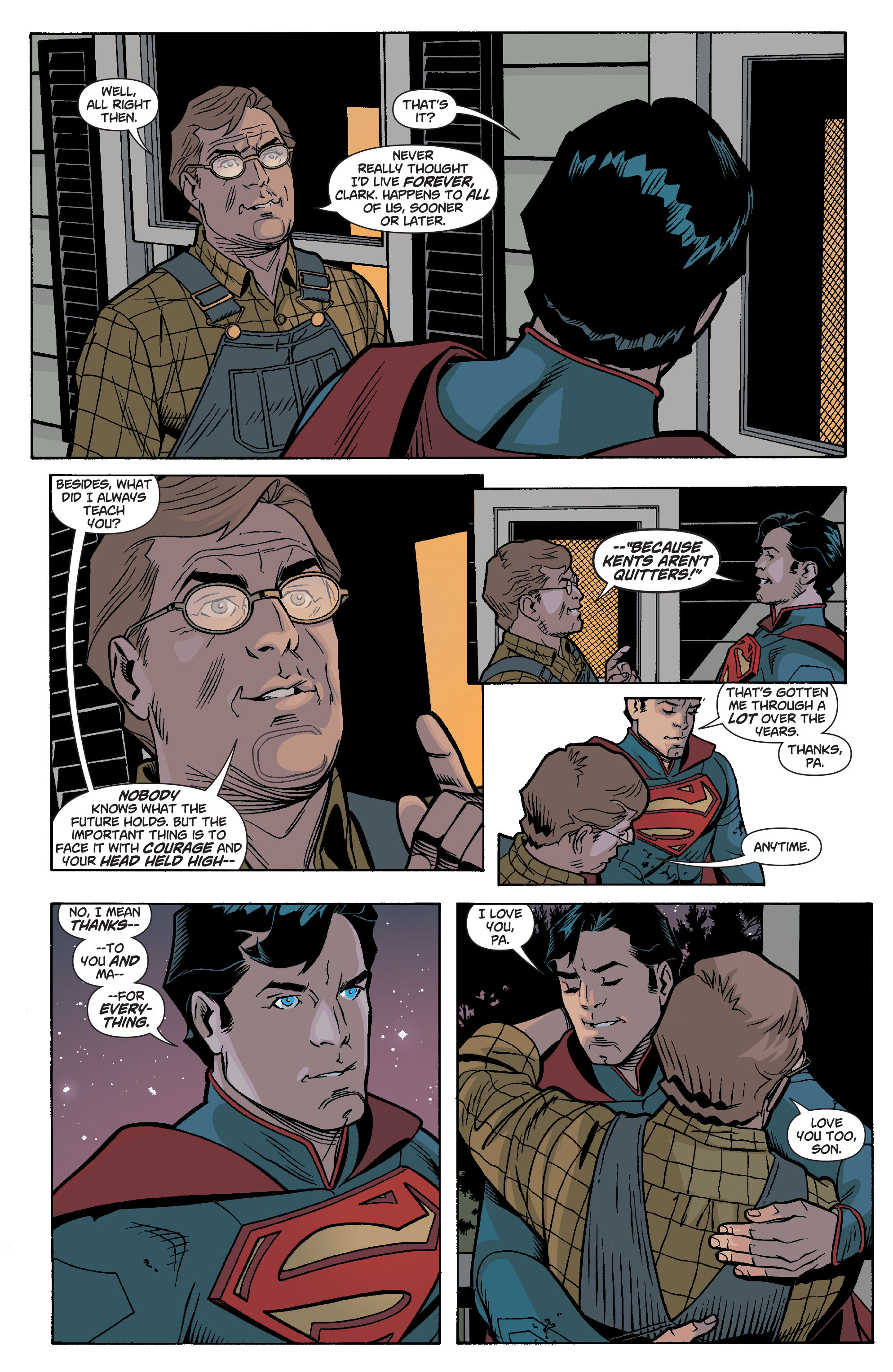 Read online Action Comics (2011) comic -  Issue #17 - 30