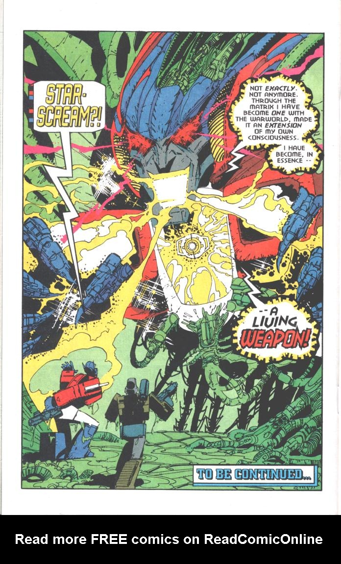 Read online Transformers: Generation 2 comic -  Issue #10 - 22