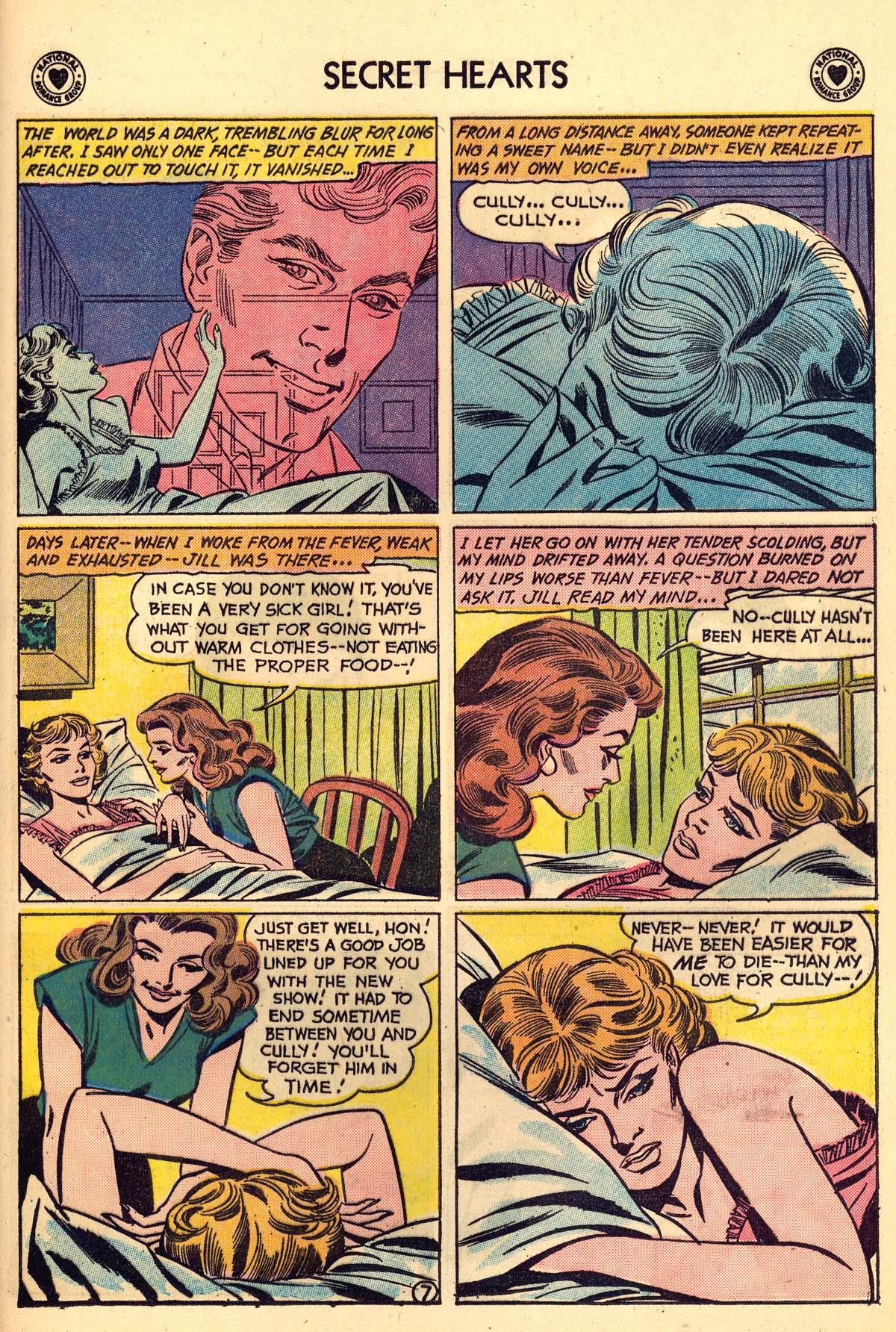 Read online Secret Hearts comic -  Issue #59 - 33