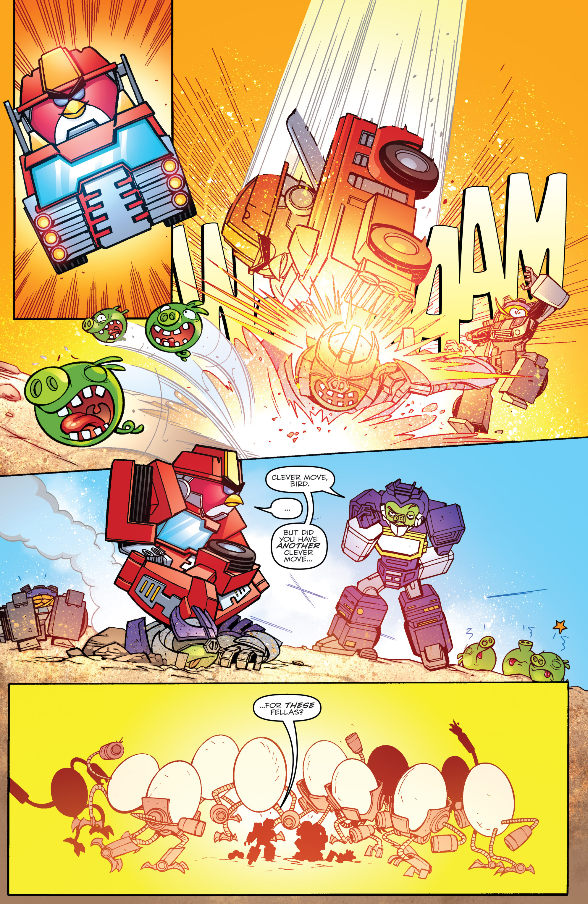 Read online Angry Birds Transformers comic -  Issue #3 - 15