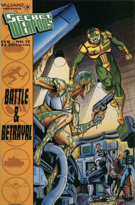 Read online Secret Weapons comic -  Issue #17 - 1