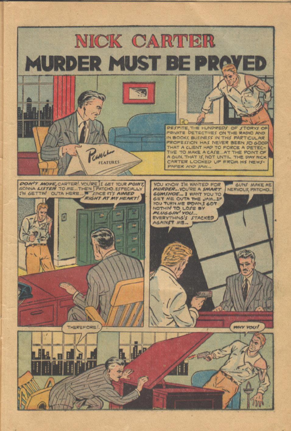 Read online Shadow Comics comic -  Issue #95 - 17
