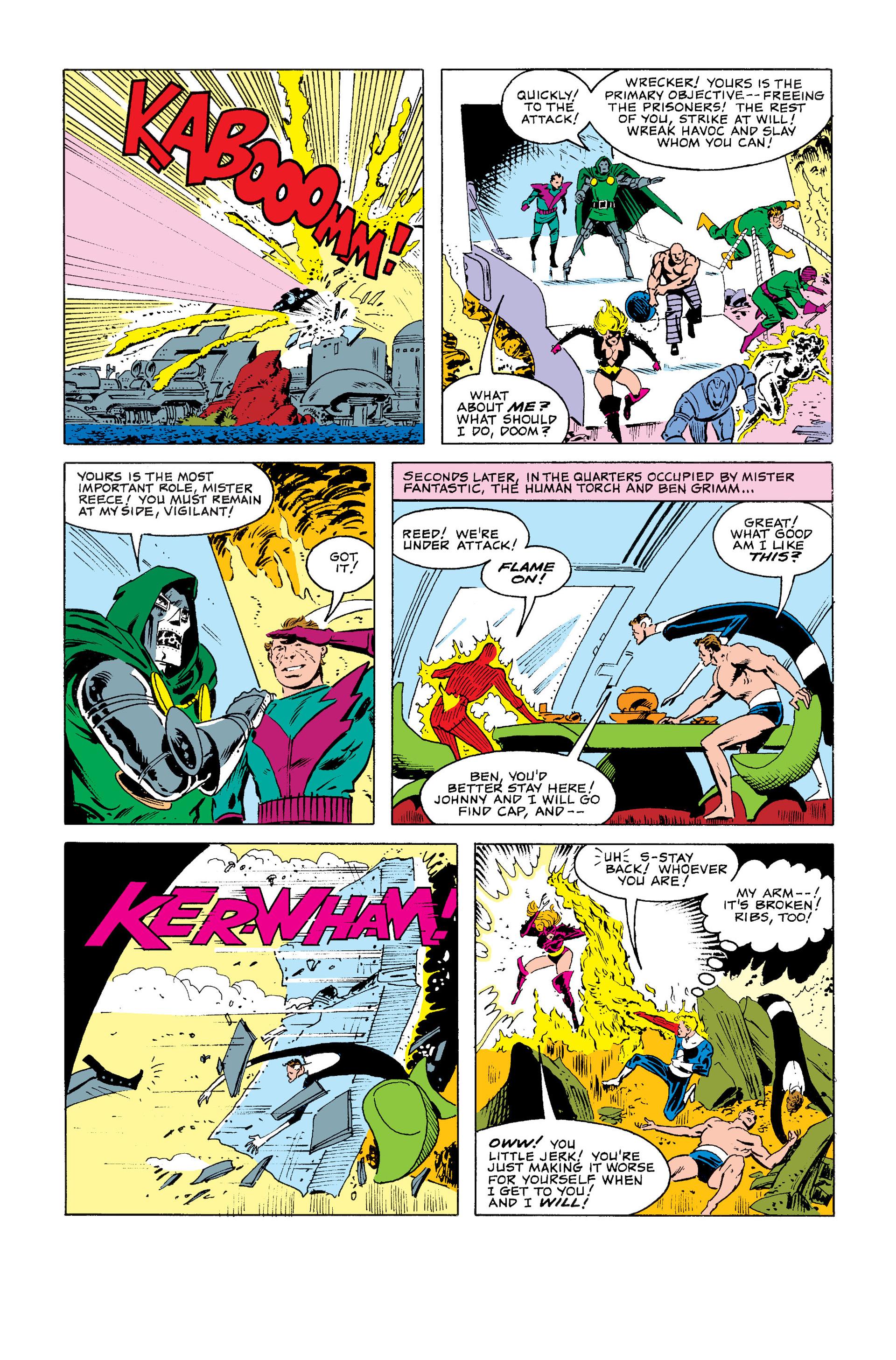 Read online Secret Wars (1985) comic -  Issue #3 - 22