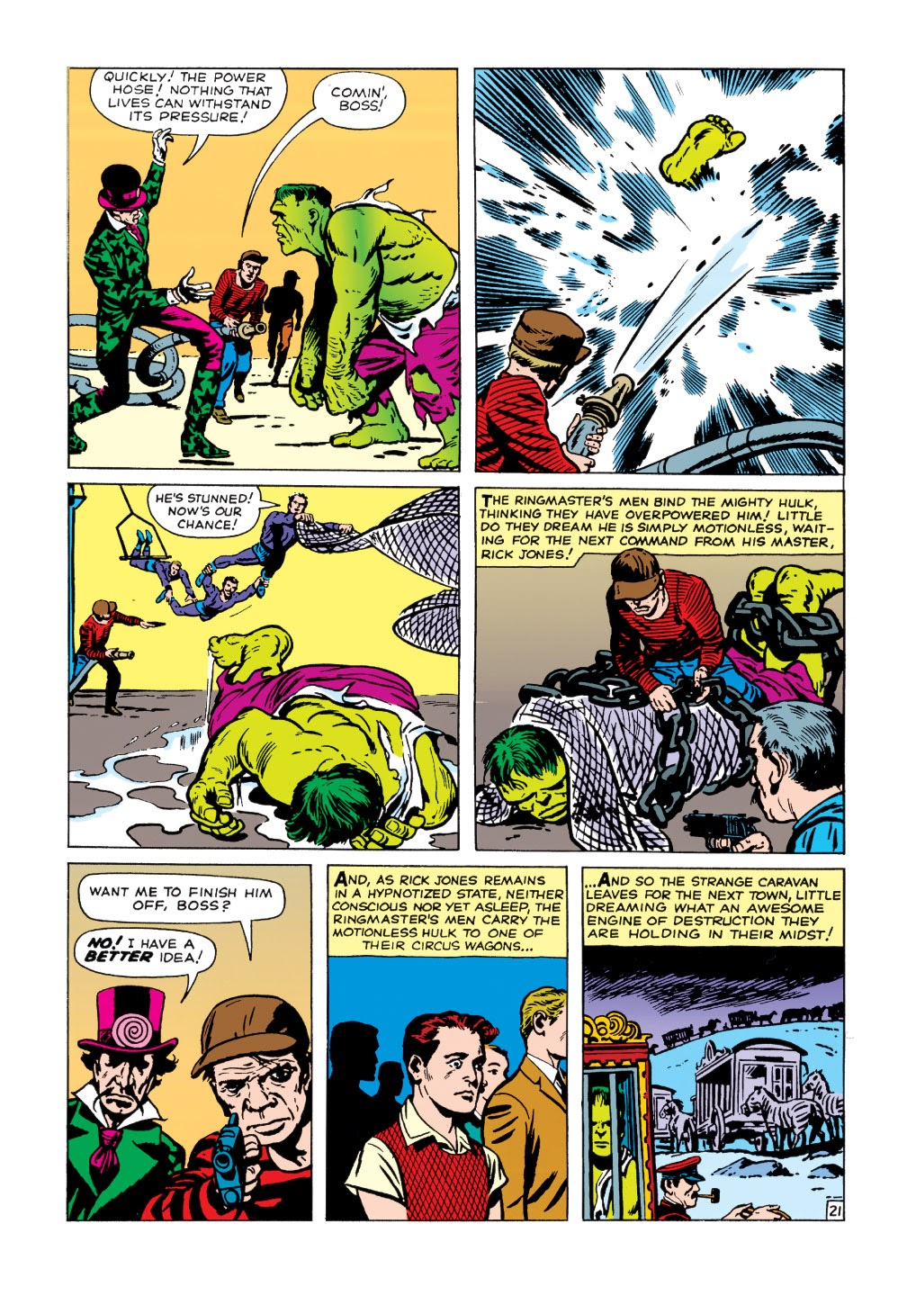 Read online Marvel Masterworks: The Incredible Hulk comic -  Issue # TPB 1 (Part 1) - 74