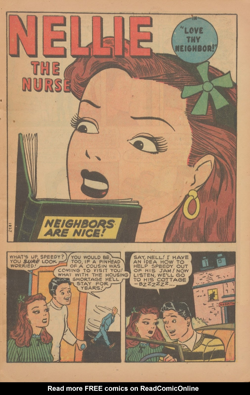 Read online Nellie The Nurse (1945) comic -  Issue #9 - 11
