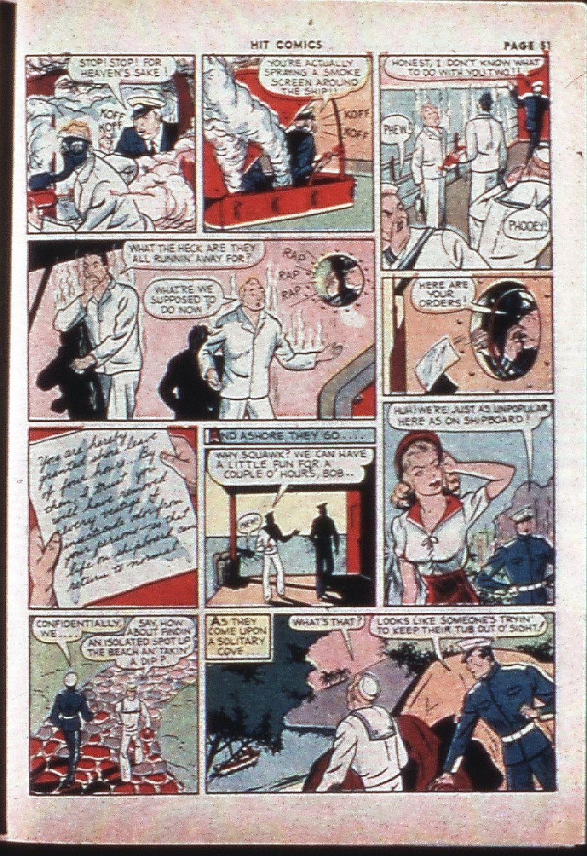 Read online Hit Comics comic -  Issue #4 - 53