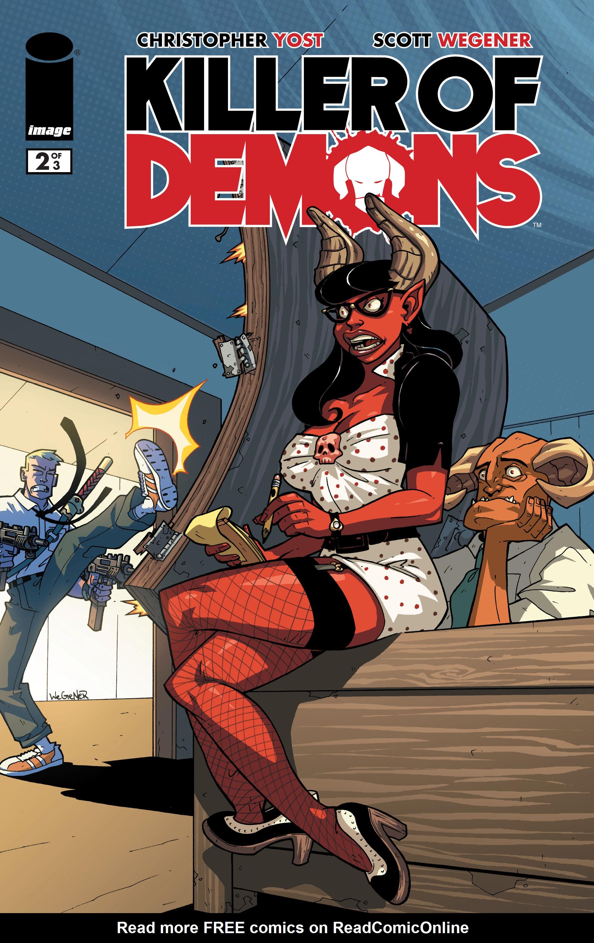 Read online Killer Of Demons comic -  Issue #2 - 1