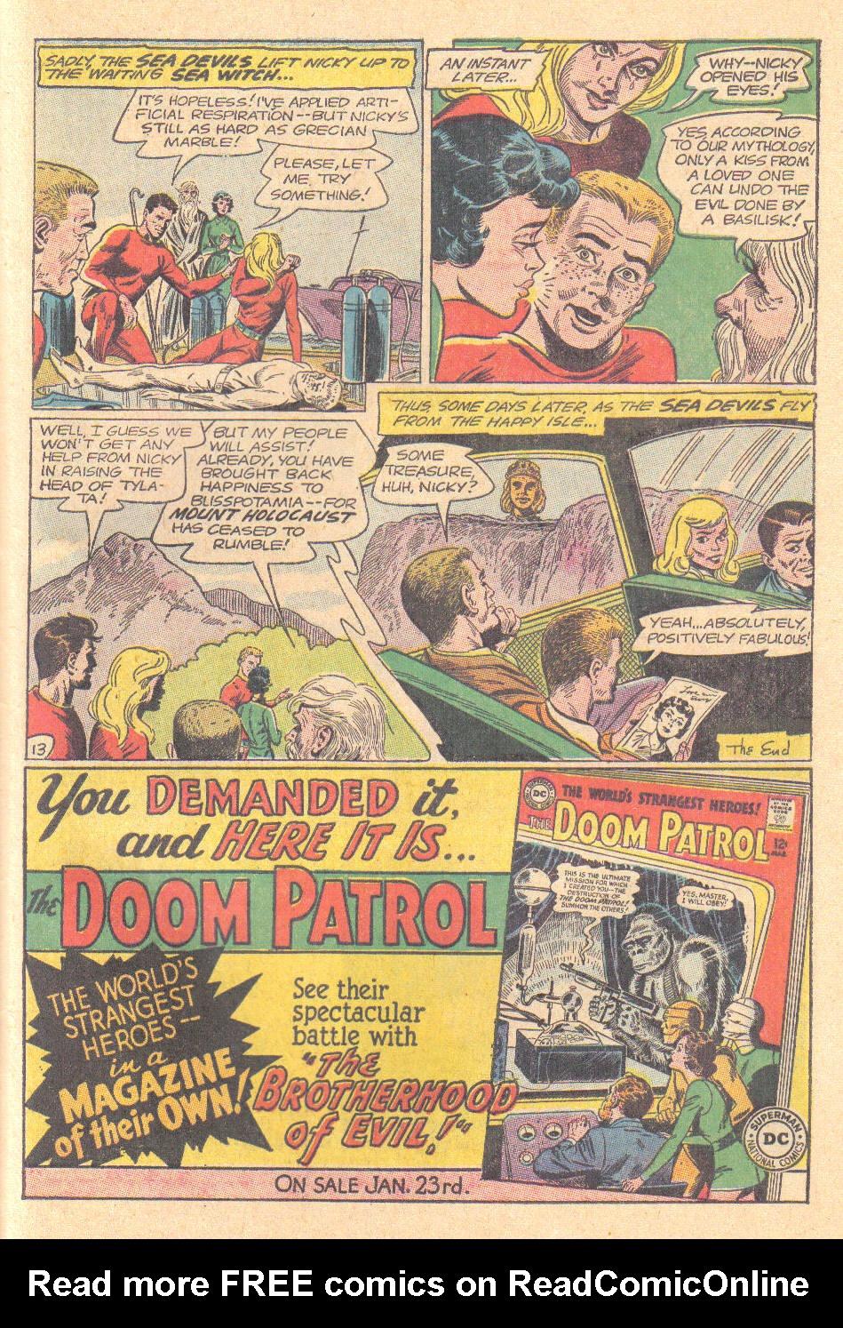 Read online Sea Devils comic -  Issue #16 - 31