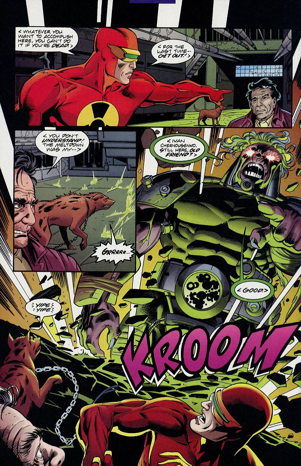 Read online Solar, Man of the Atom comic -  Issue #58 - 15