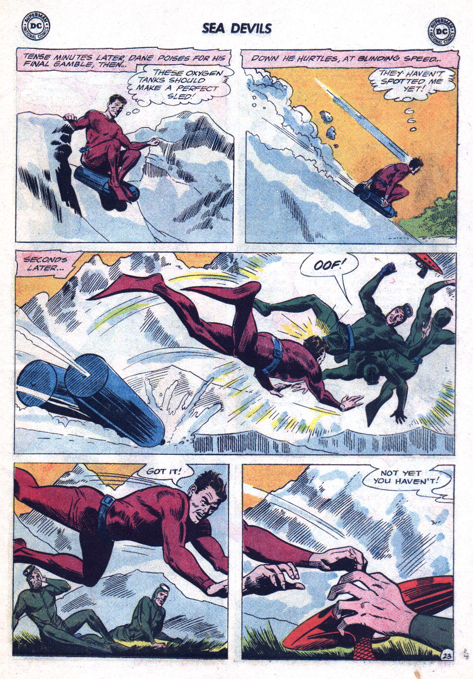 Read online Sea Devils comic -  Issue #20 - 31
