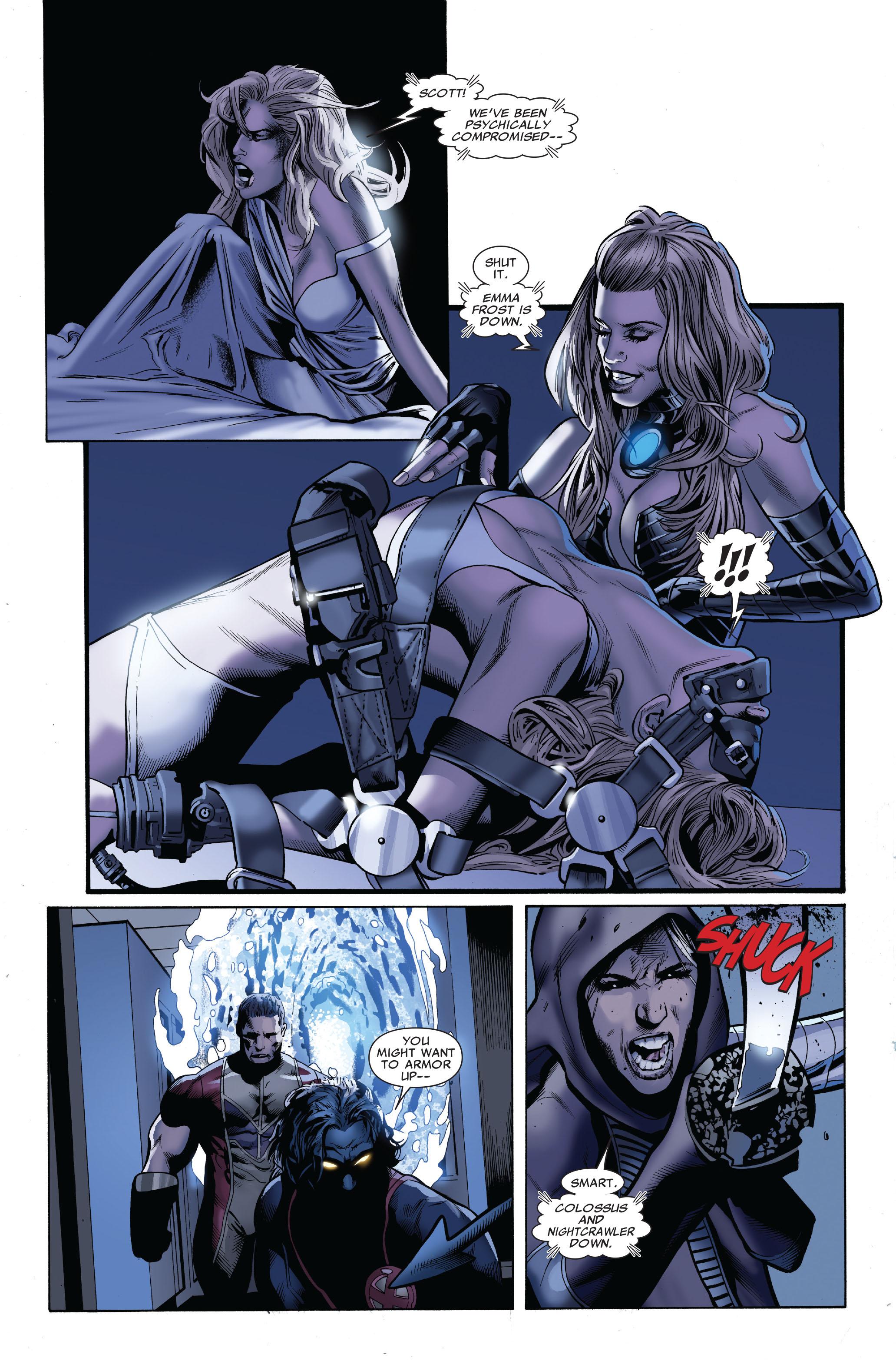 Read online Uncanny X-Men (1963) comic -  Issue #509 - 21