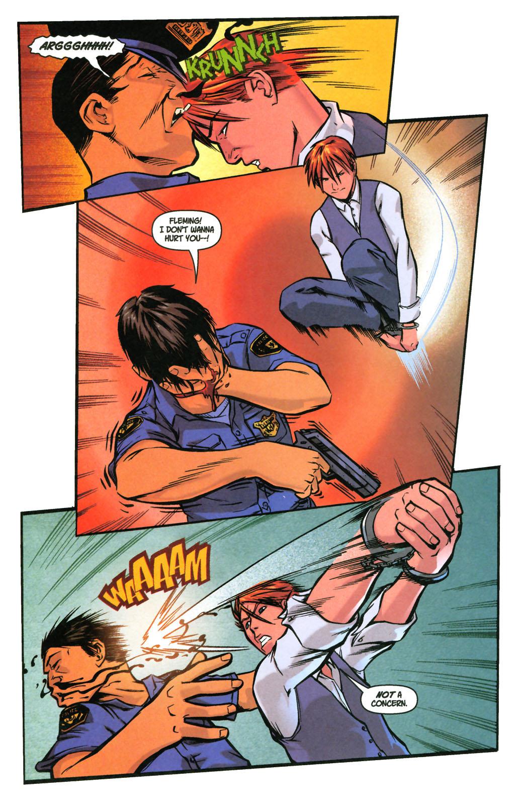 Read online SpyBoy: Final Exam comic -  Issue #3 - 6