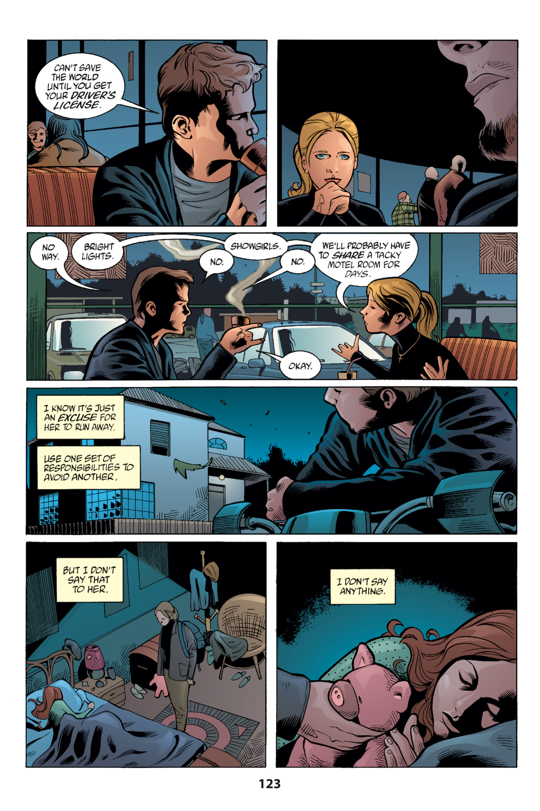 Read online Buffy the Vampire Slayer: Omnibus comic -  Issue # TPB 1 - 122