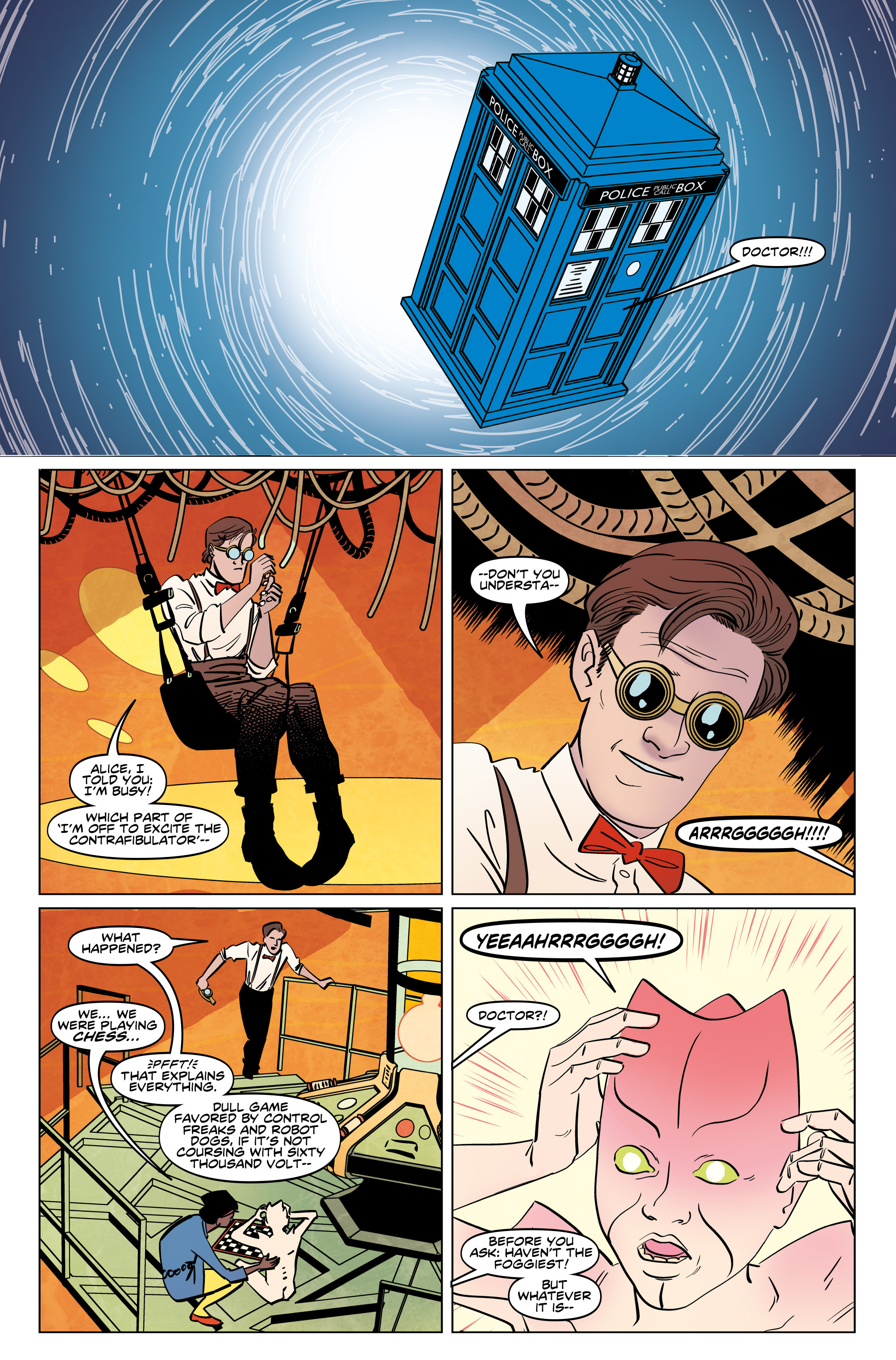 Read online Doctor Who: The Eleventh Doctor Year Three comic -  Issue #5 - 6