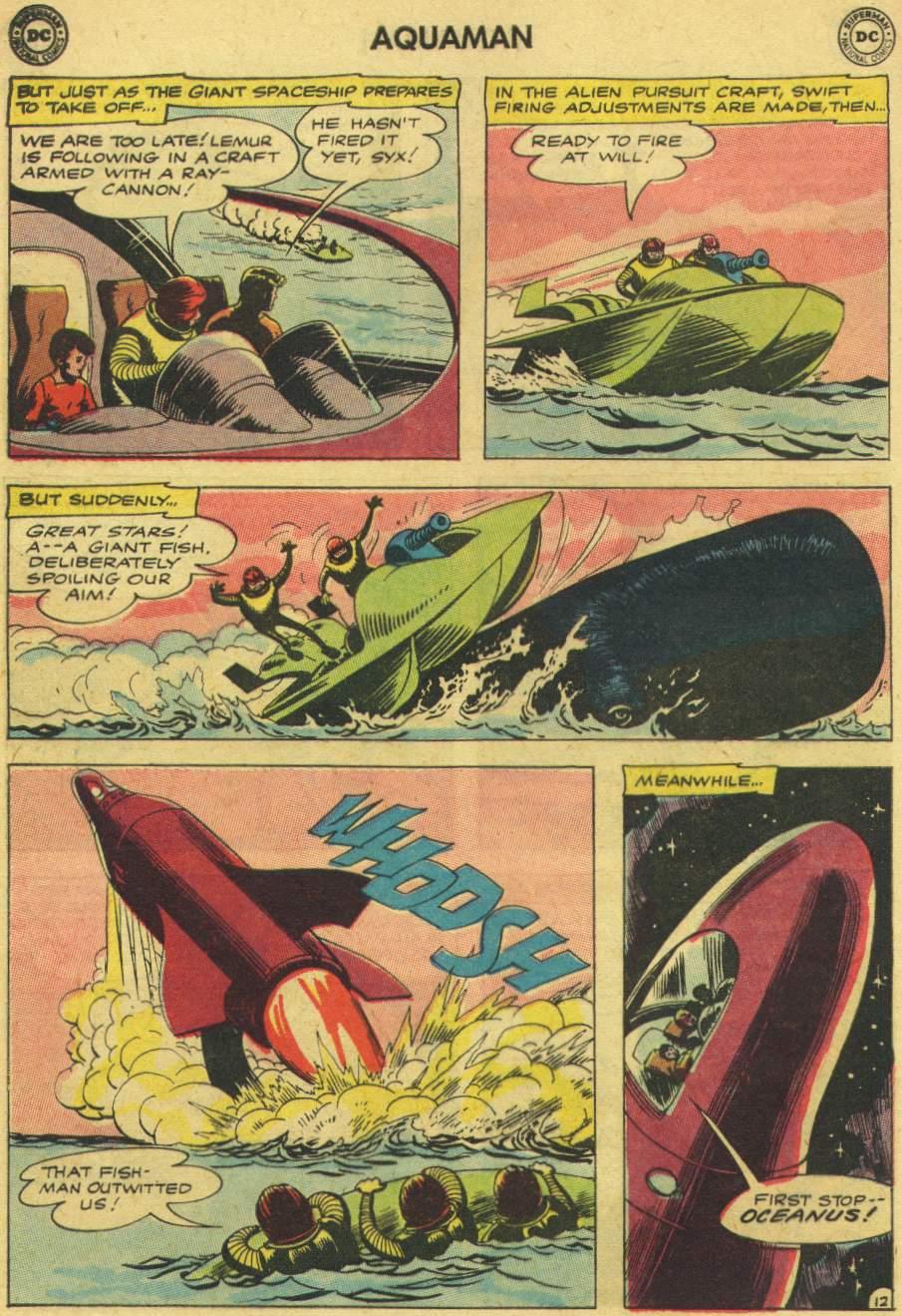 Read online Aquaman (1962) comic -  Issue #8 - 16