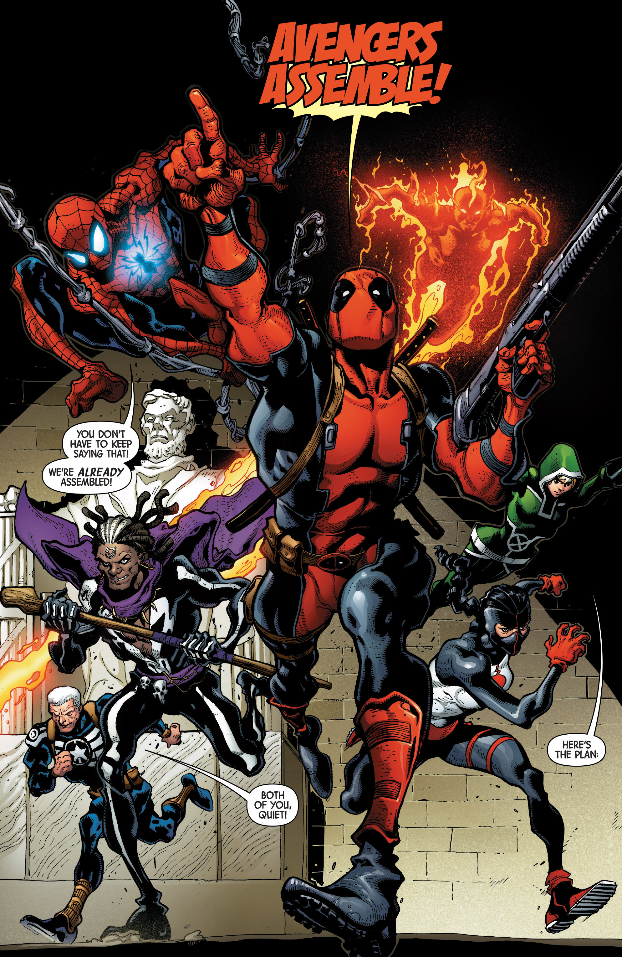 Read online Uncanny Avengers [II] comic -  Issue #1 - 9