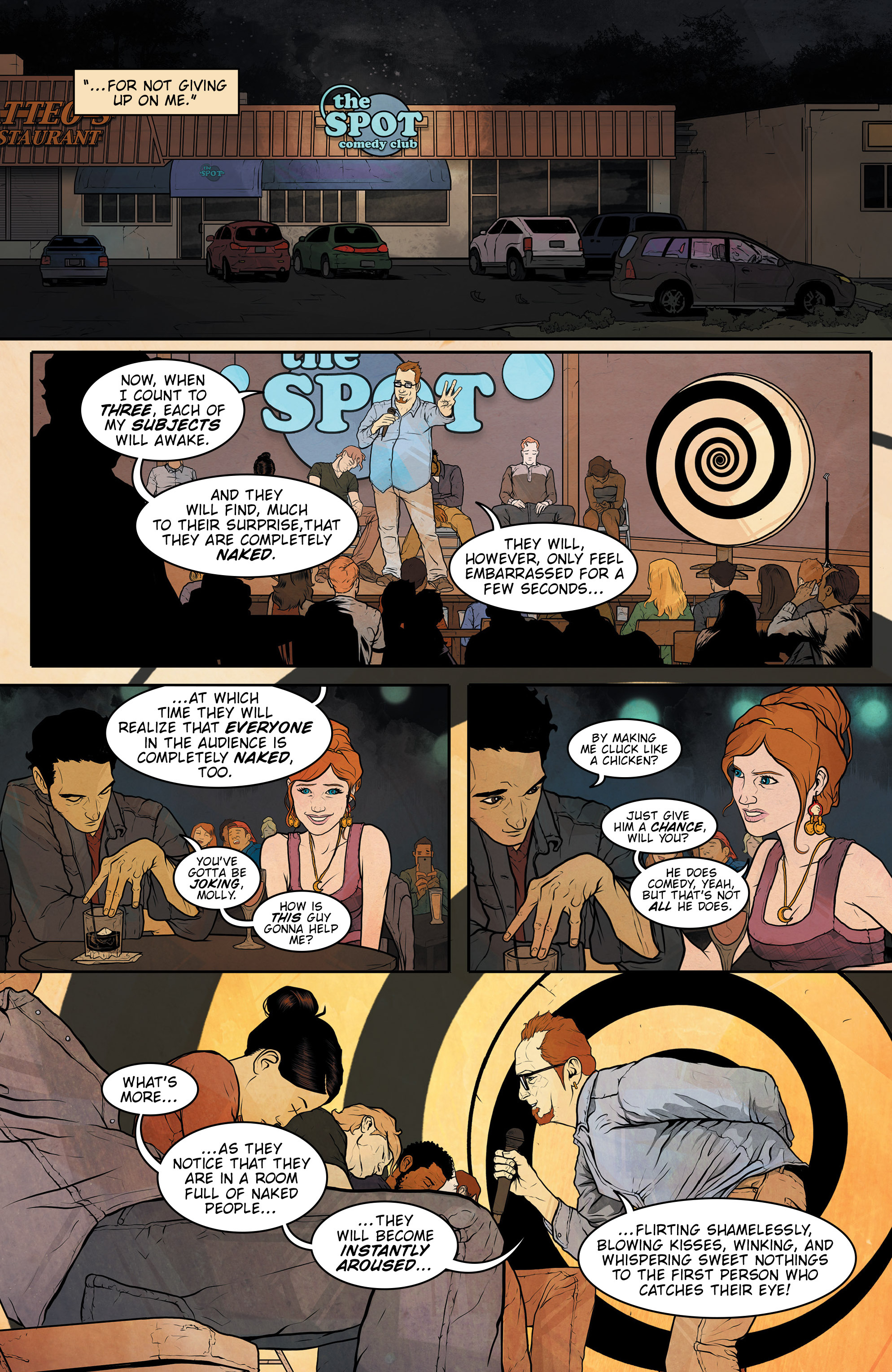Read online Regression comic -  Issue #1 - 12