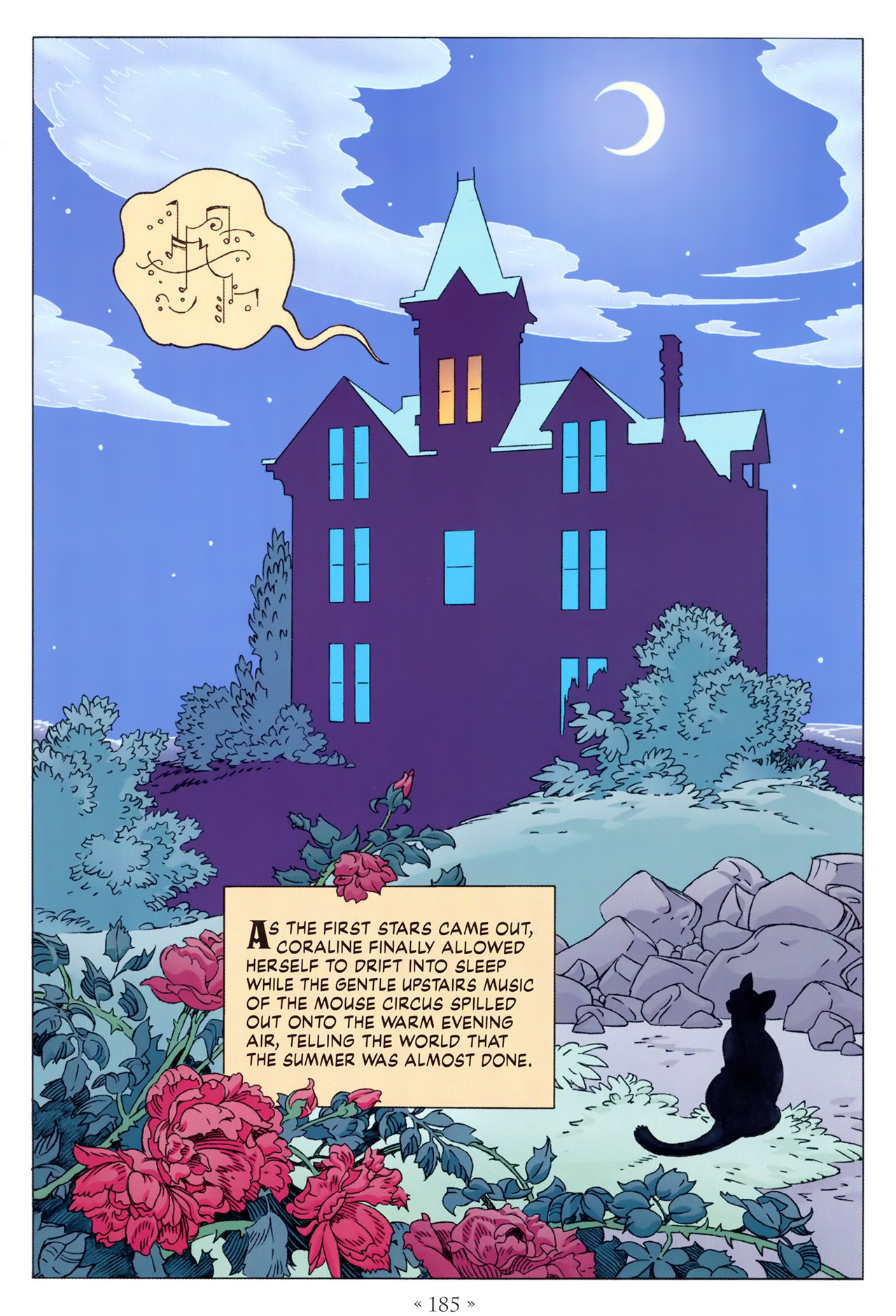 Read online Coraline comic -  Issue #1 - 191