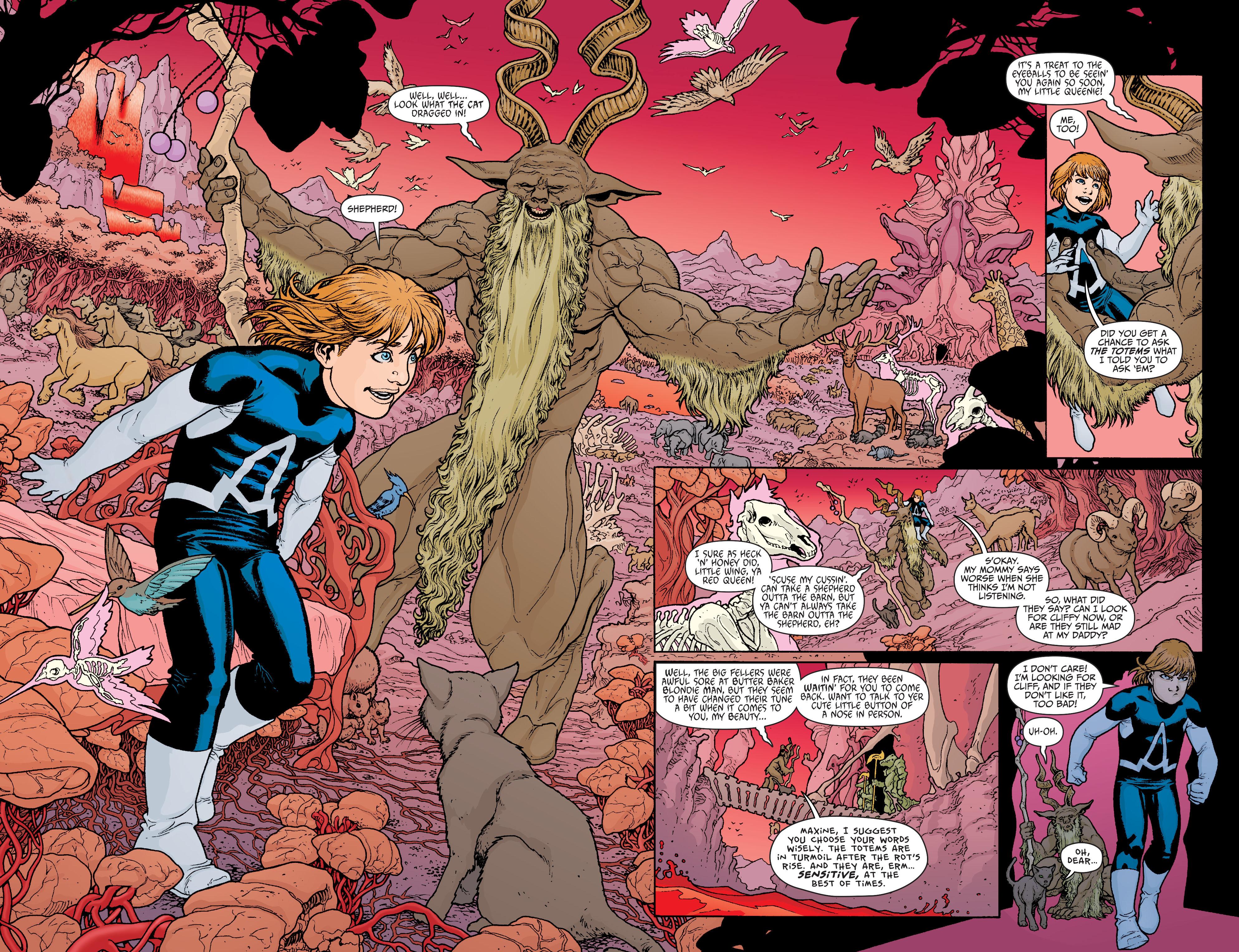 Read online Animal Man (2011) comic -  Issue #21 - 8