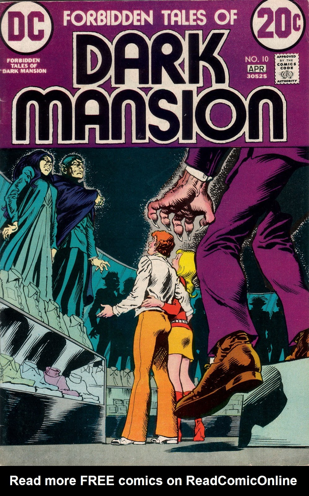 Forbidden Tales of Dark Mansion 10 Page 1