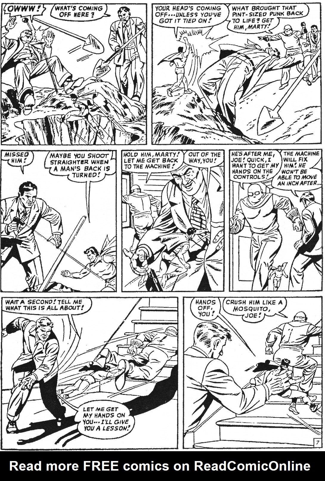 Read online Men of Mystery Comics comic -  Issue #63 - 9