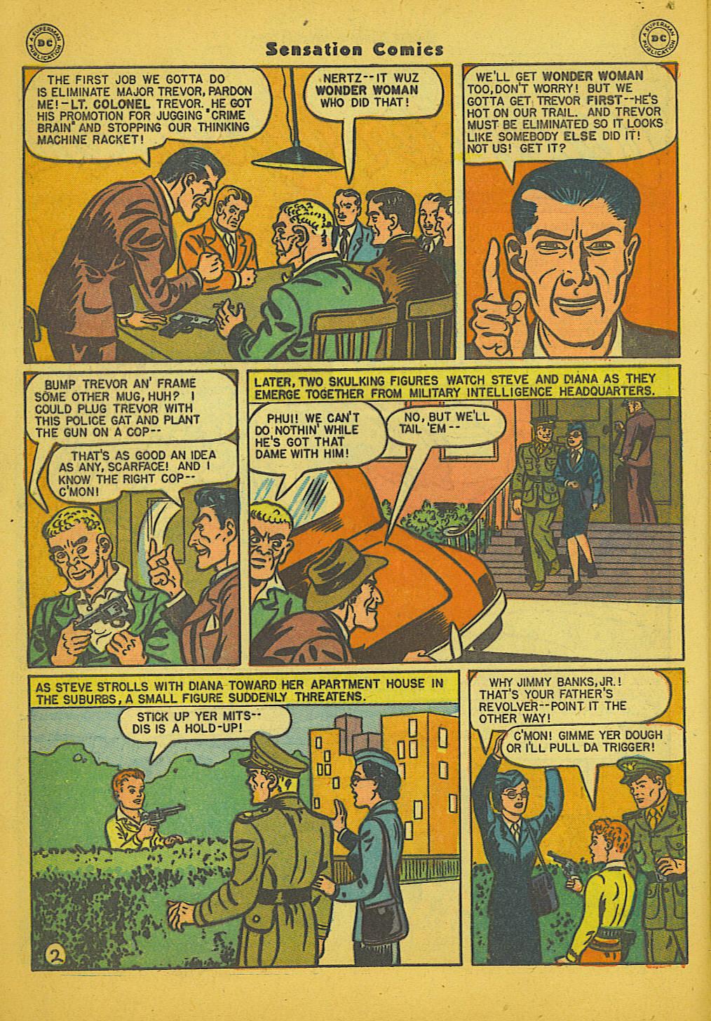 Read online Sensation (Mystery) Comics comic -  Issue #66 - 4